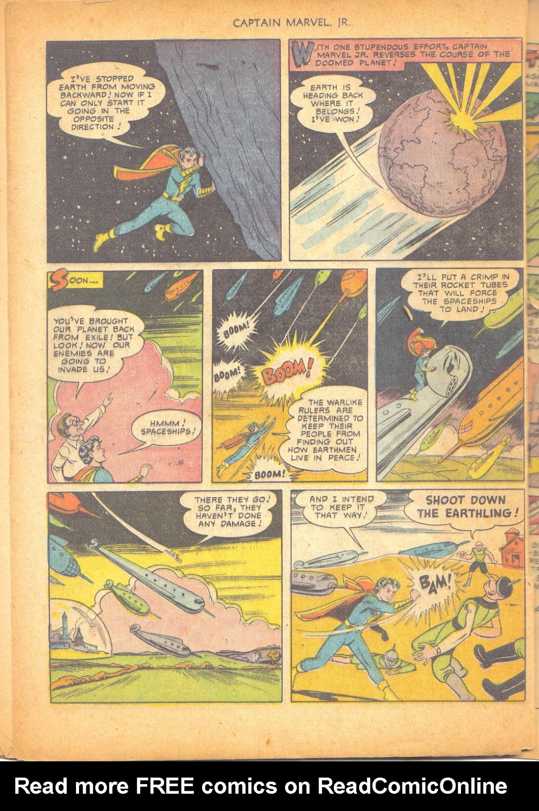 Captain Marvel, Jr. issue 95 - Page 39