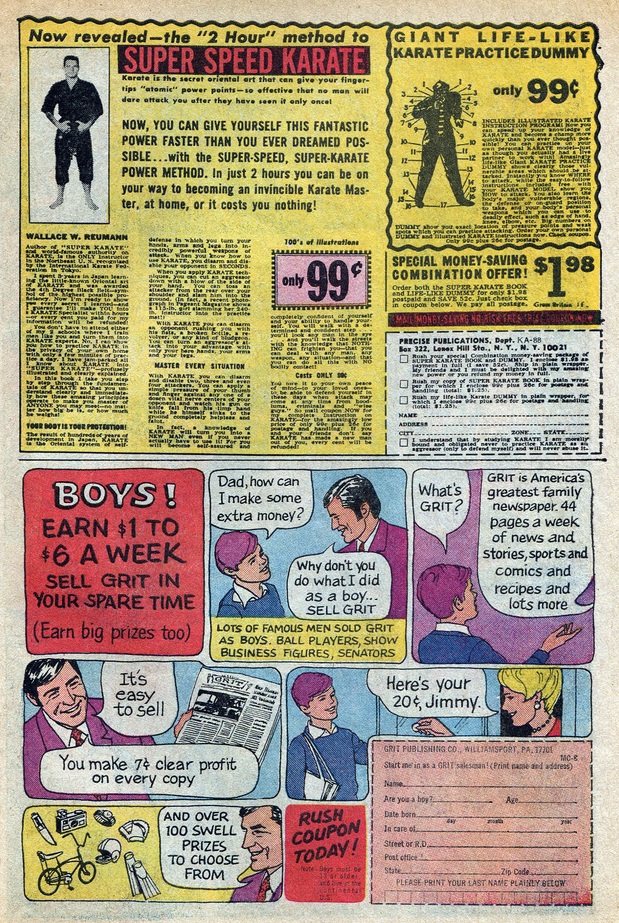 Read online Amazing Adventures (1970) comic -  Issue #8 - 31