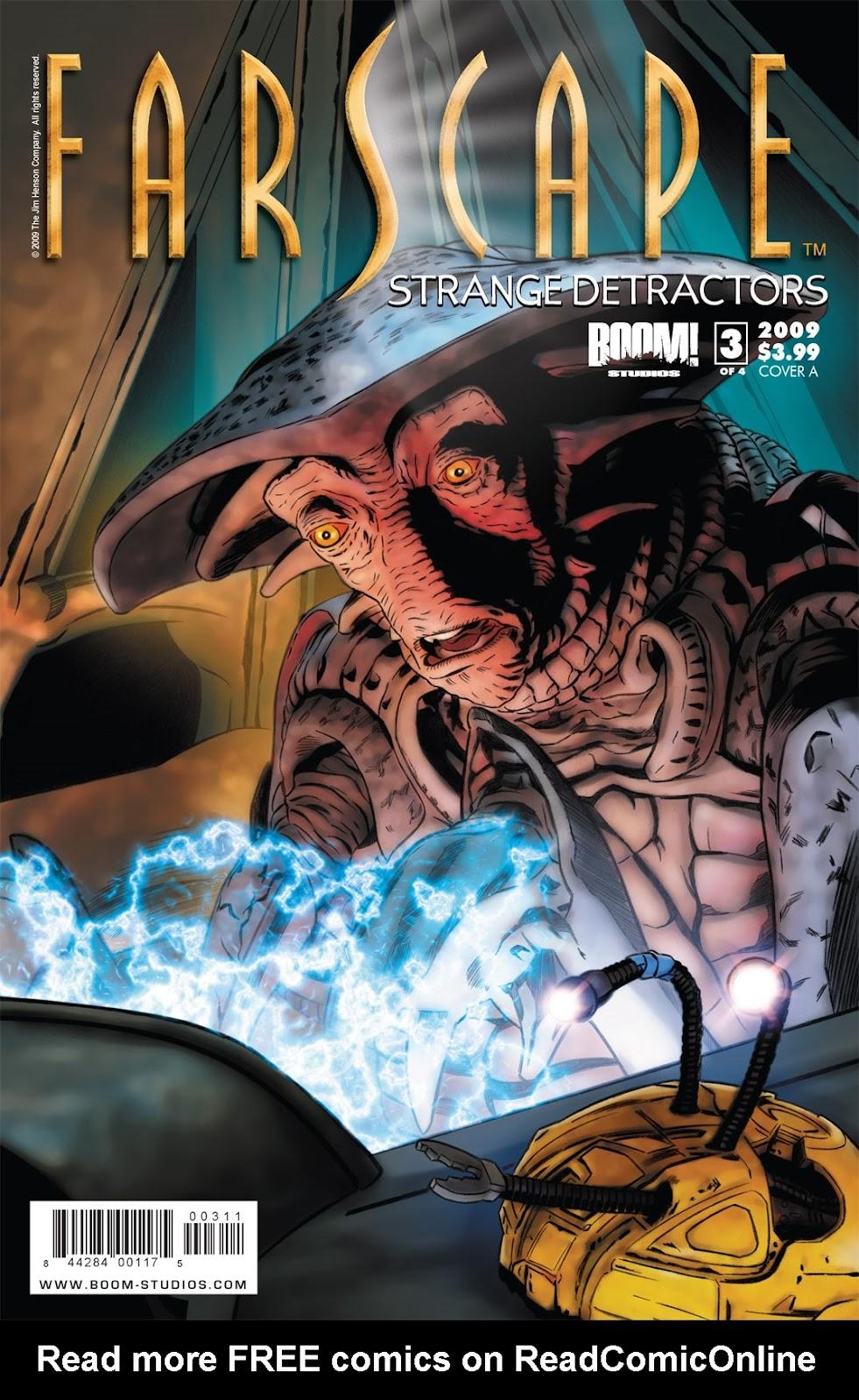 Farscape: Strange Detractors issue 3 - Page 1
