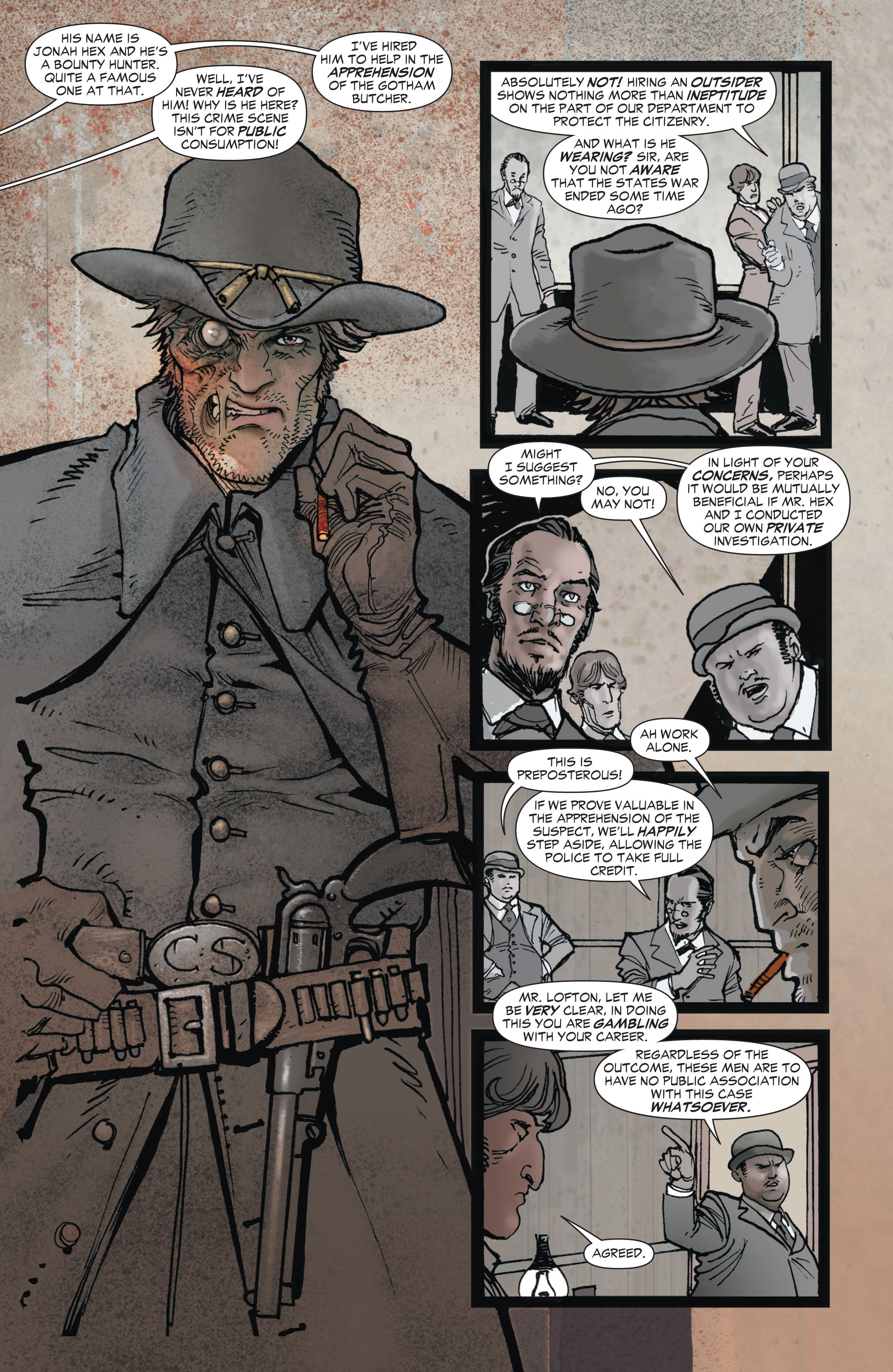 Read online All-Star Western (2011) comic -  Issue #1 - 9
