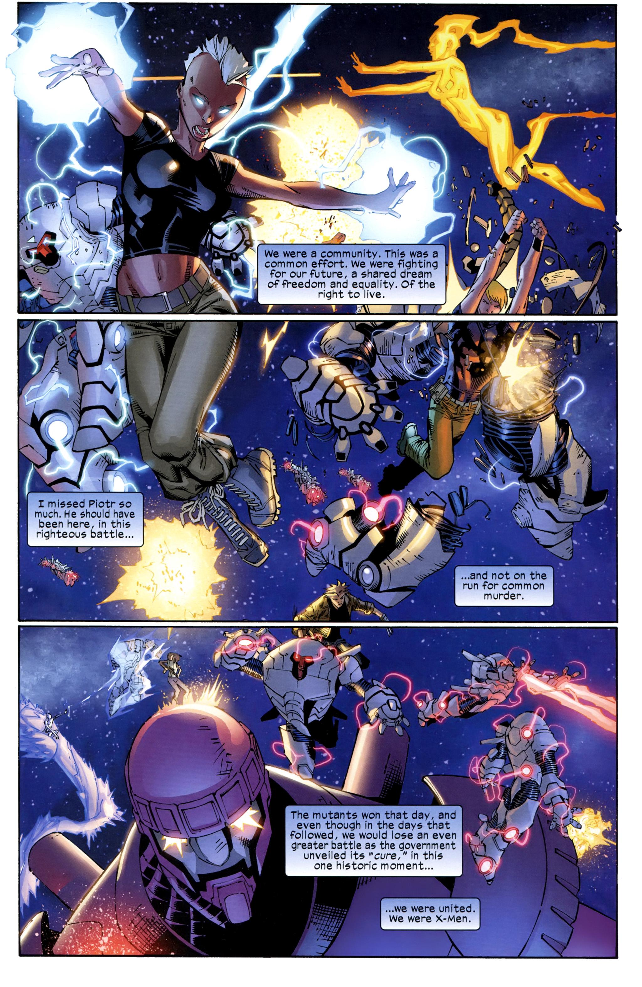 Read online Ultimate Comics X-Men comic -  Issue #23 - 17