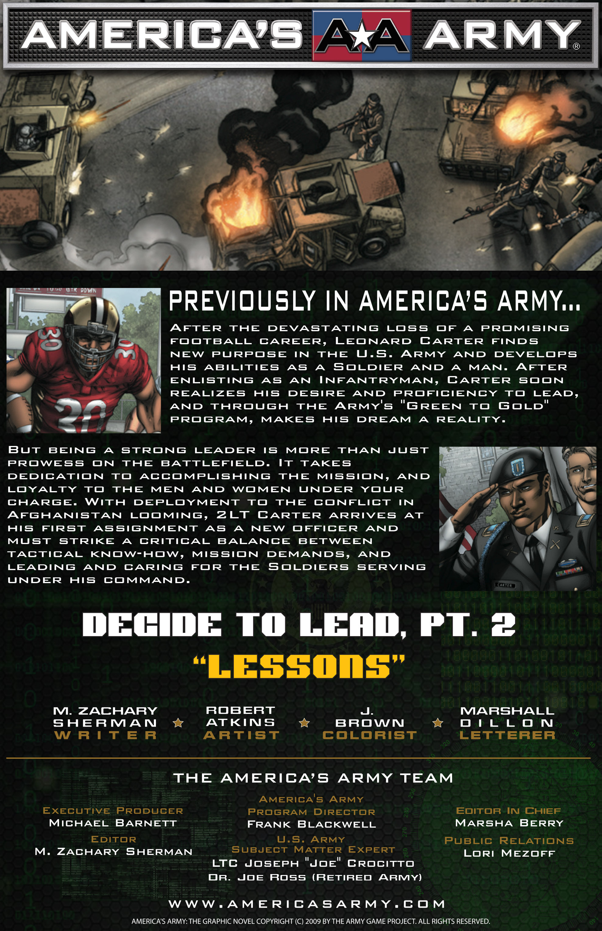 Read online America's Army comic -  Issue #14 - 2