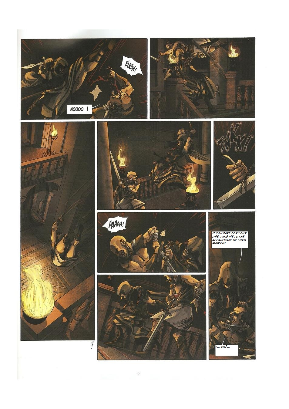 Read online Assassin's Creed (2009) comic -  Issue #3 - 9
