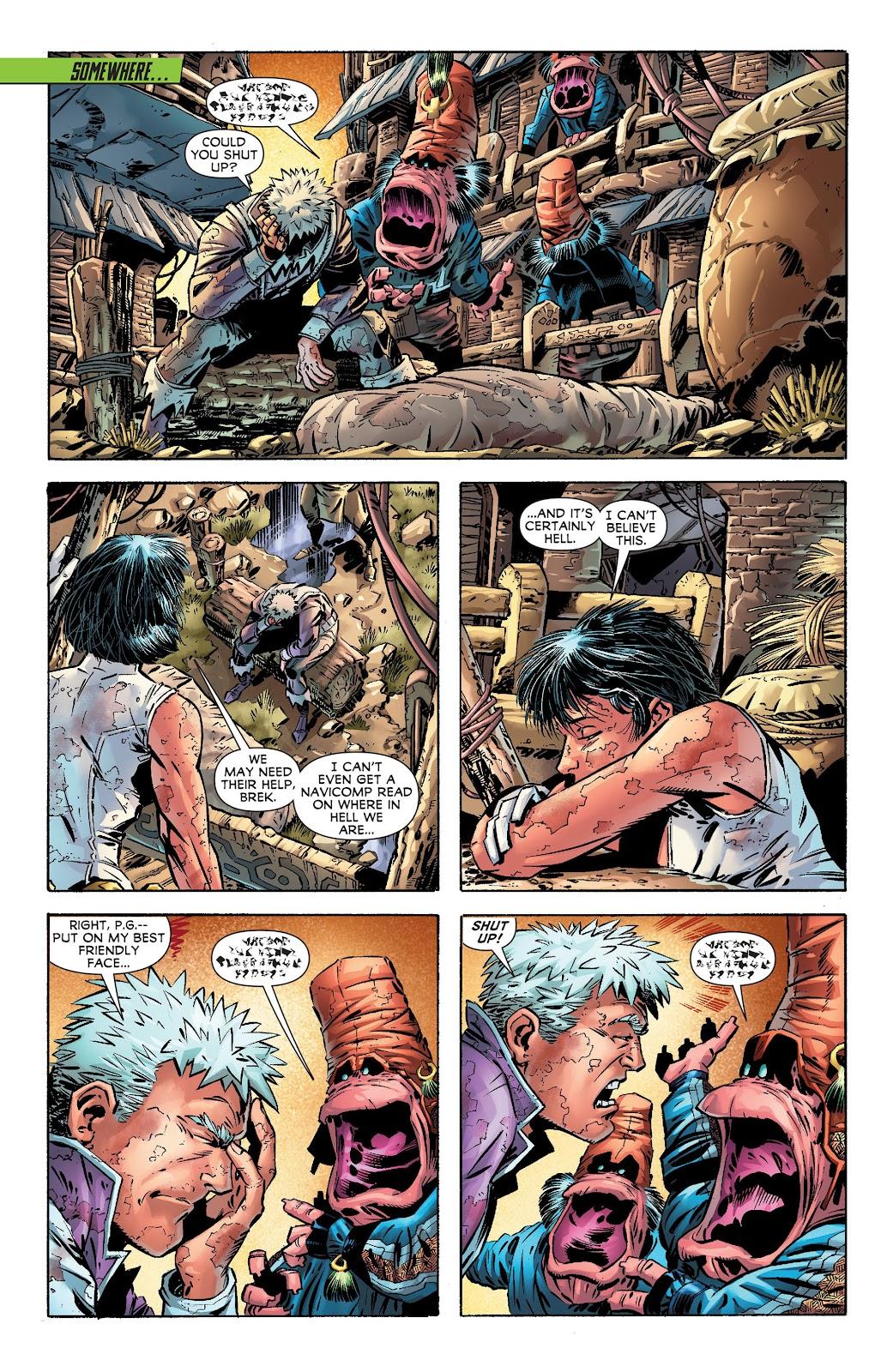 Legion of Super-Heroes (2011) Issue #17 #18 - English 9