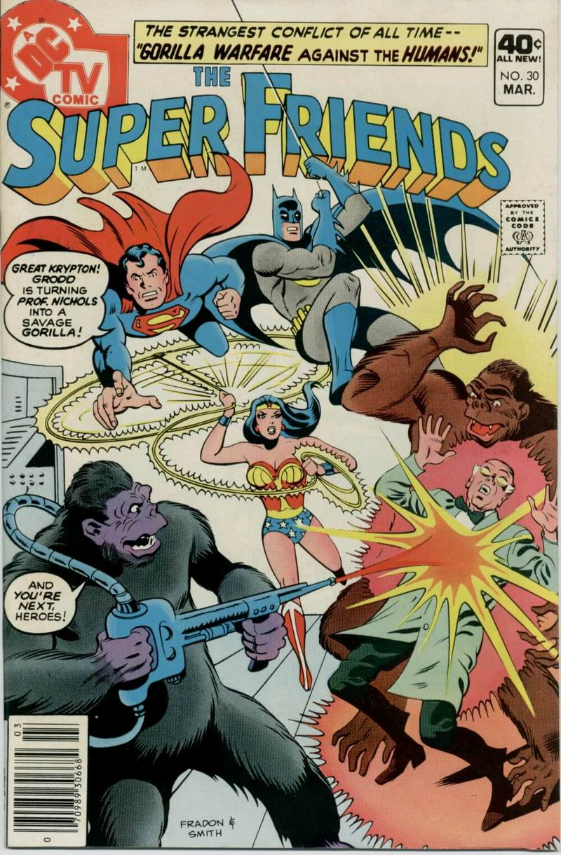 The Super Friends issue 30 - Page 1