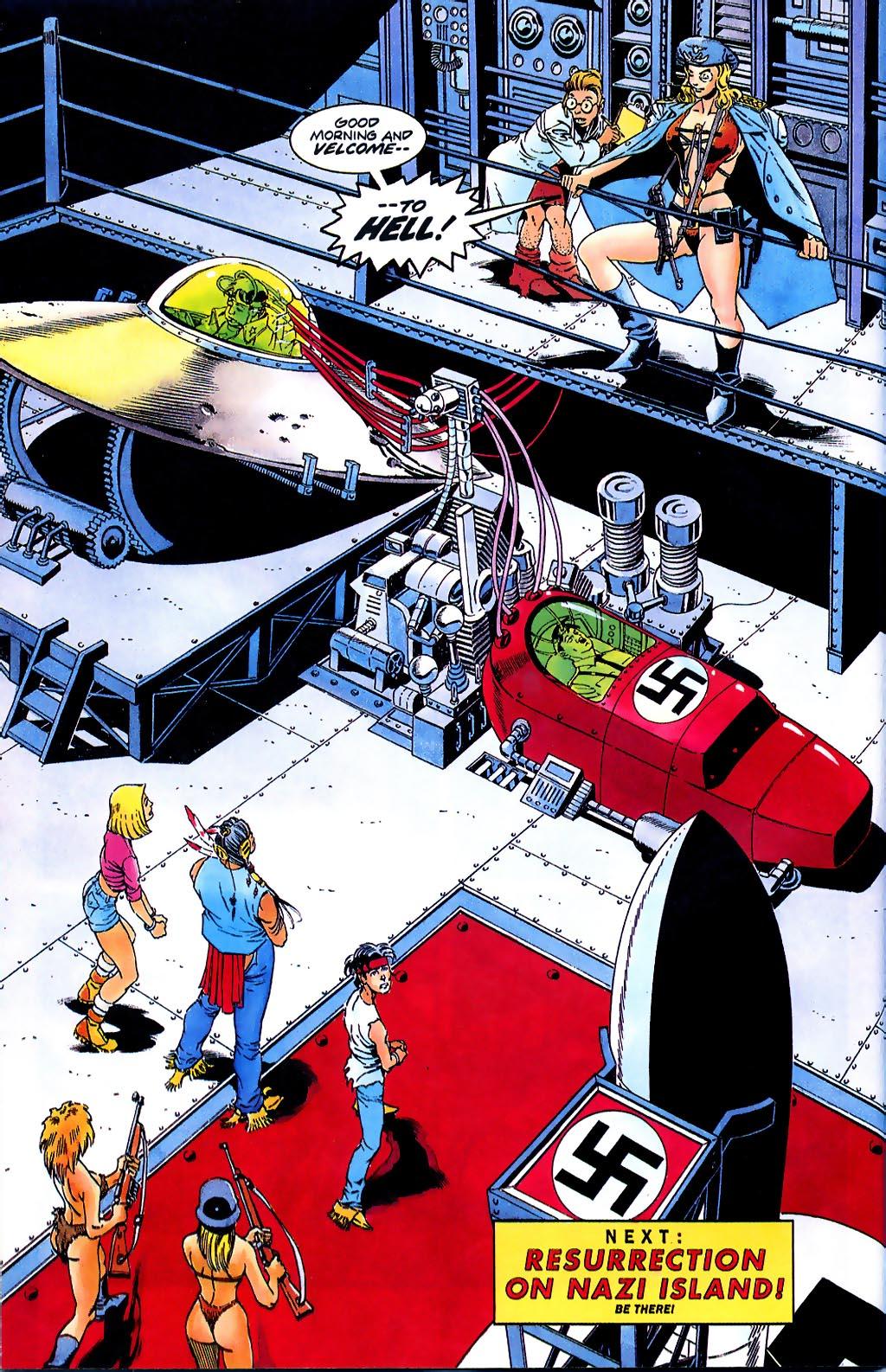 Read online Turok, Dinosaur Hunter (1993) comic -  Issue #37 - 22