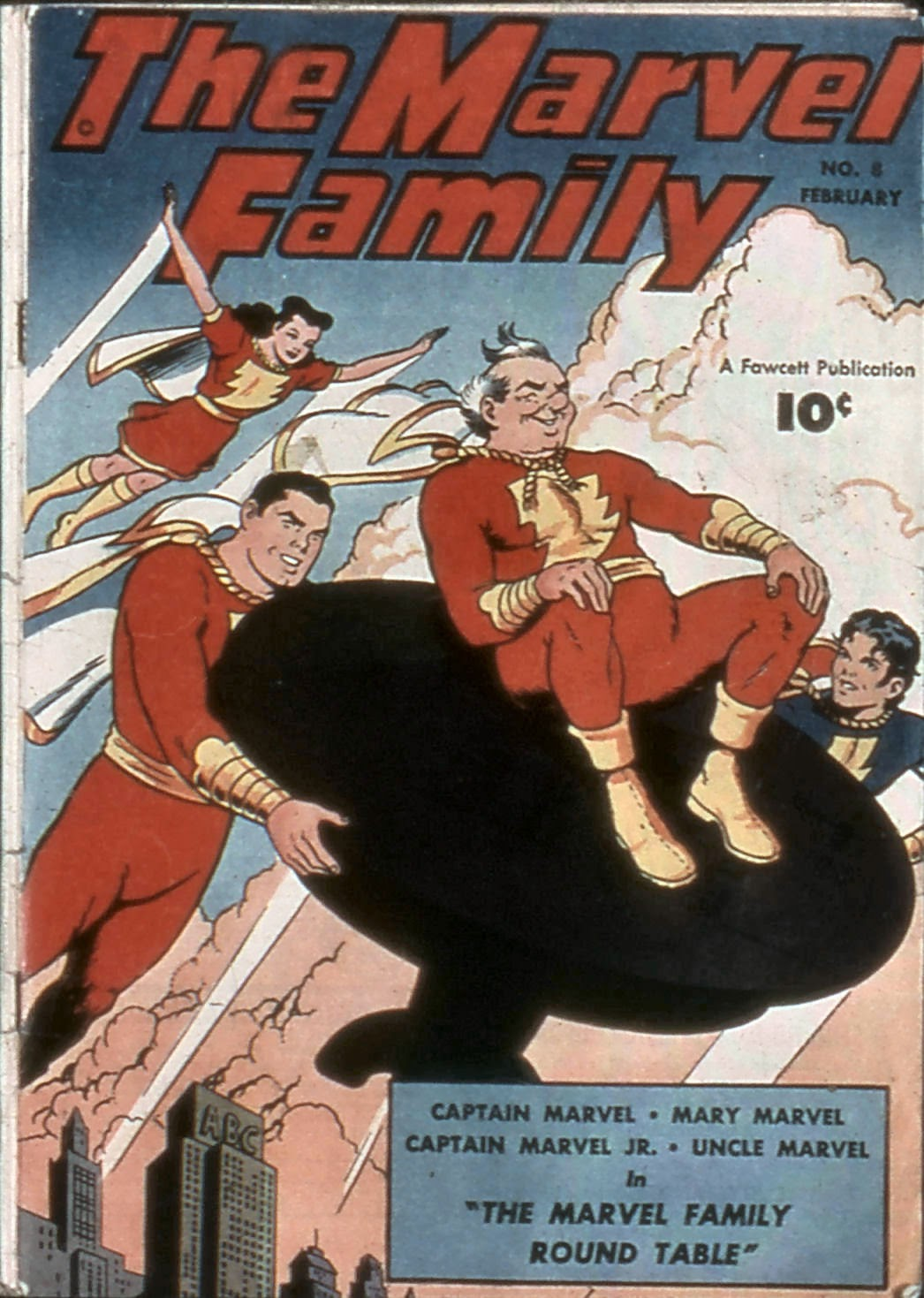 The Marvel Family issue 8 - Page 1
