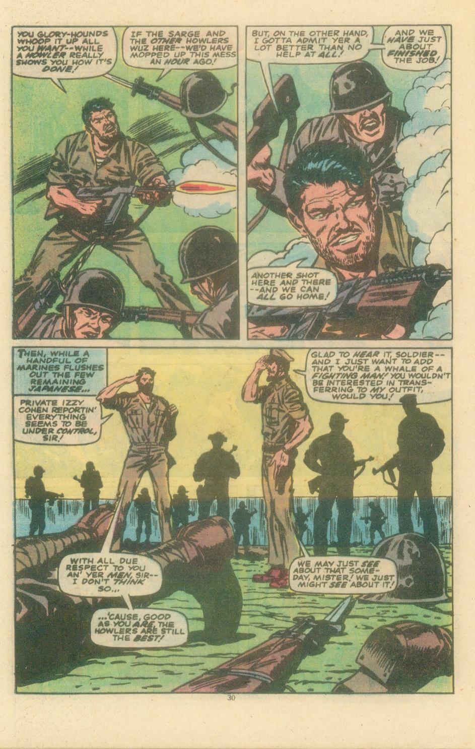 Read online Sgt. Fury comic -  Issue #154 - 32