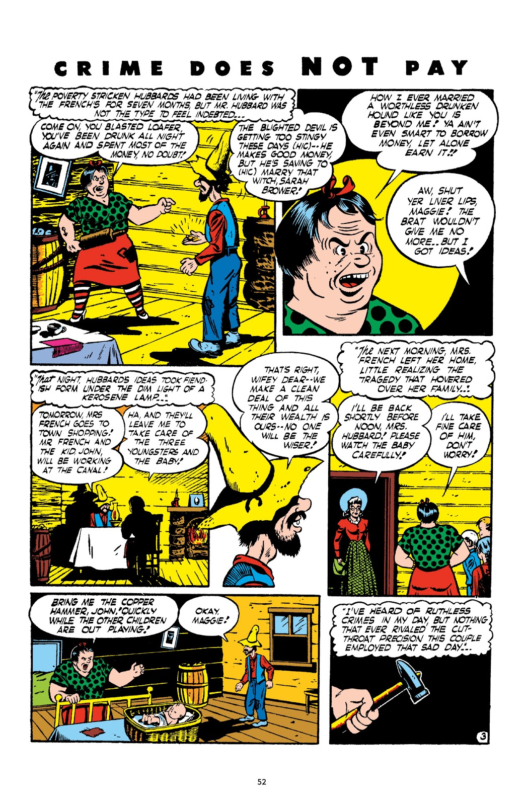 Read online Crime Does Not Pay Archives comic -  Issue # TPB 2 (Part 1) - 52