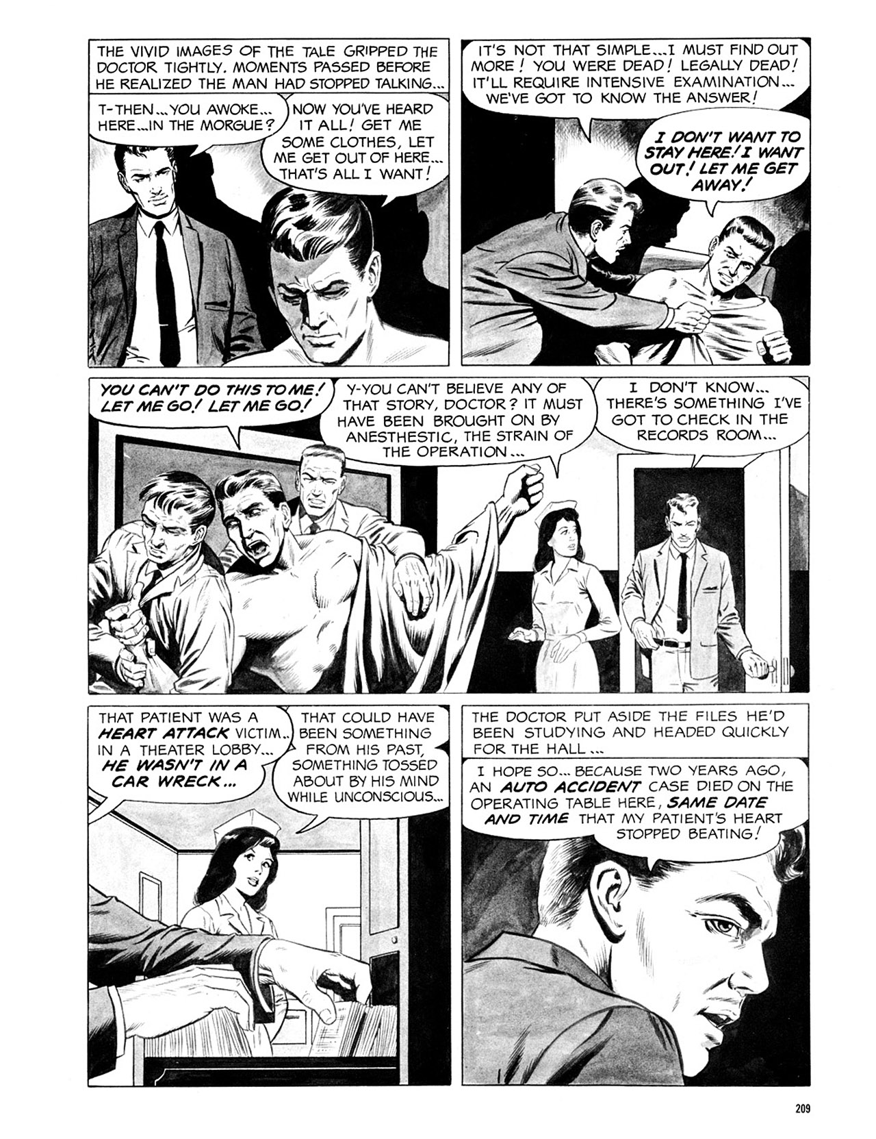 Read online Eerie Archives comic -  Issue # TPB 2 - 210
