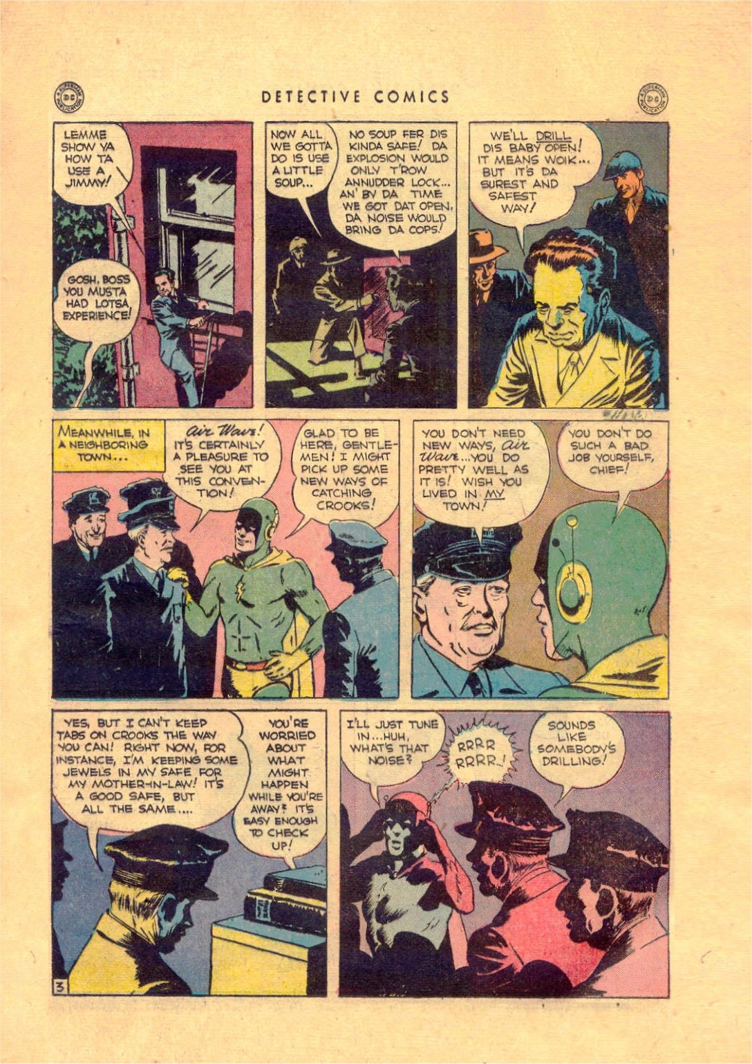Read online Detective Comics (1937) comic -  Issue #92 - 19