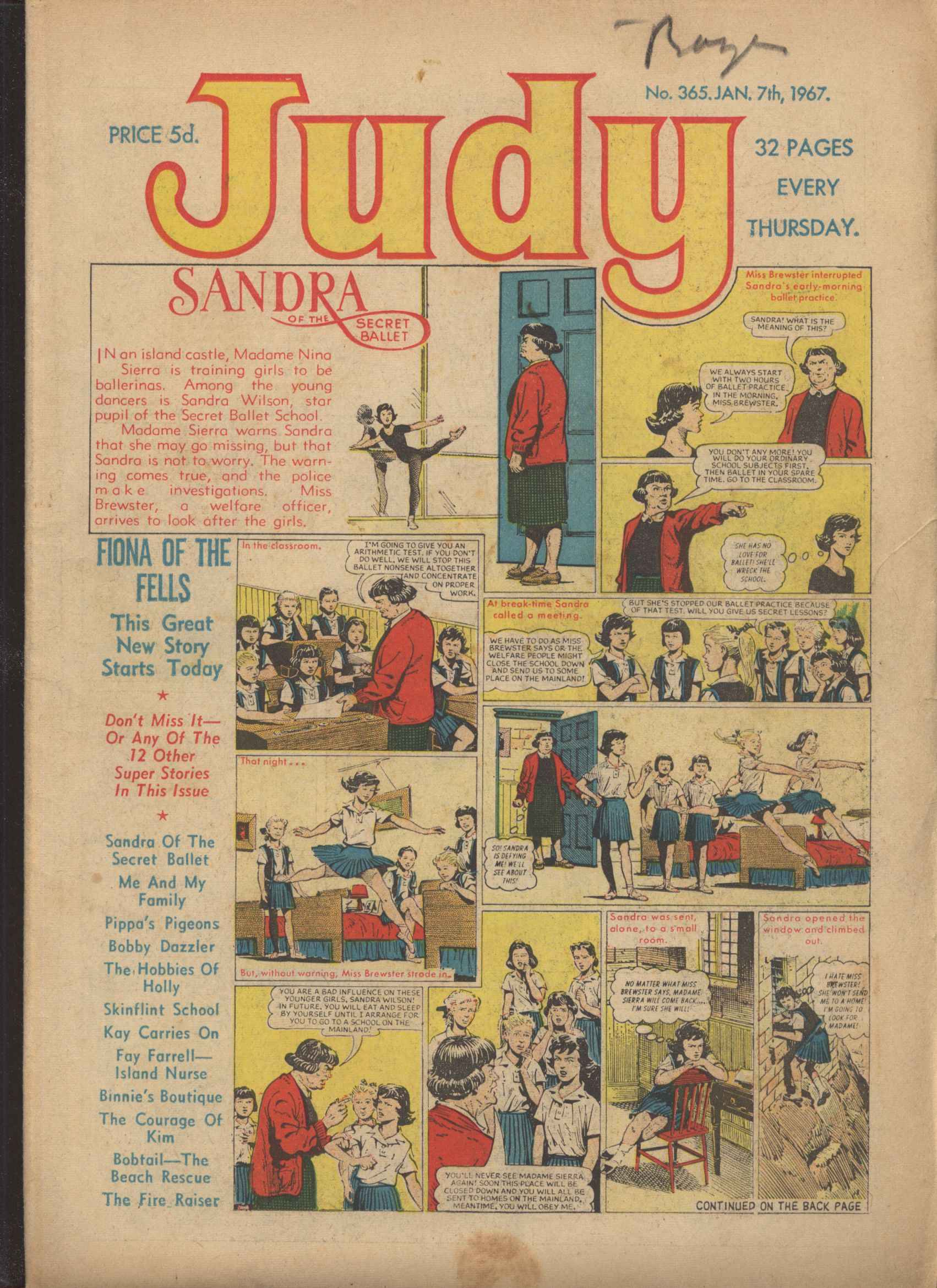 Read online Judy comic -  Issue #365 - 1