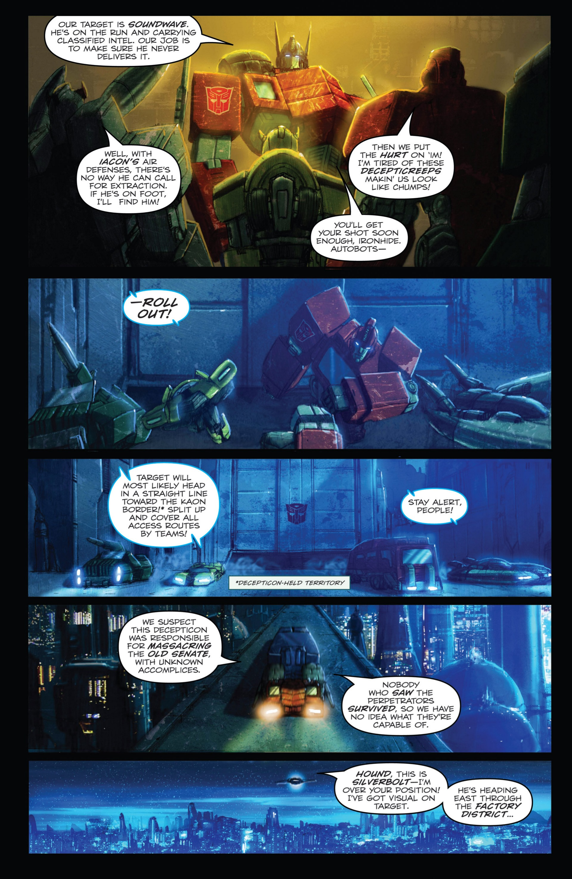 Read online Transformers: Autocracy comic -  Issue # Full - 26
