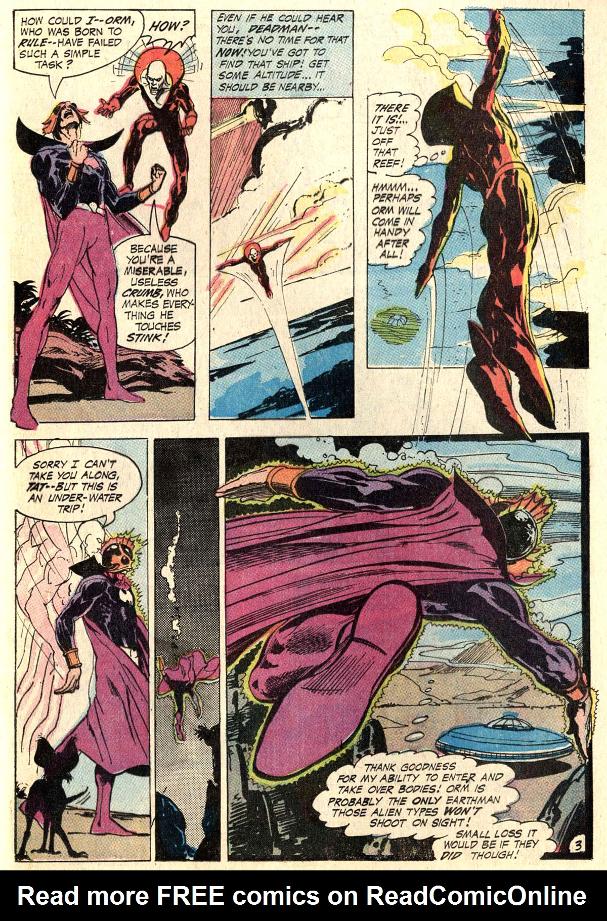 Read online Aquaman (1962) comic -  Issue #52 - 21