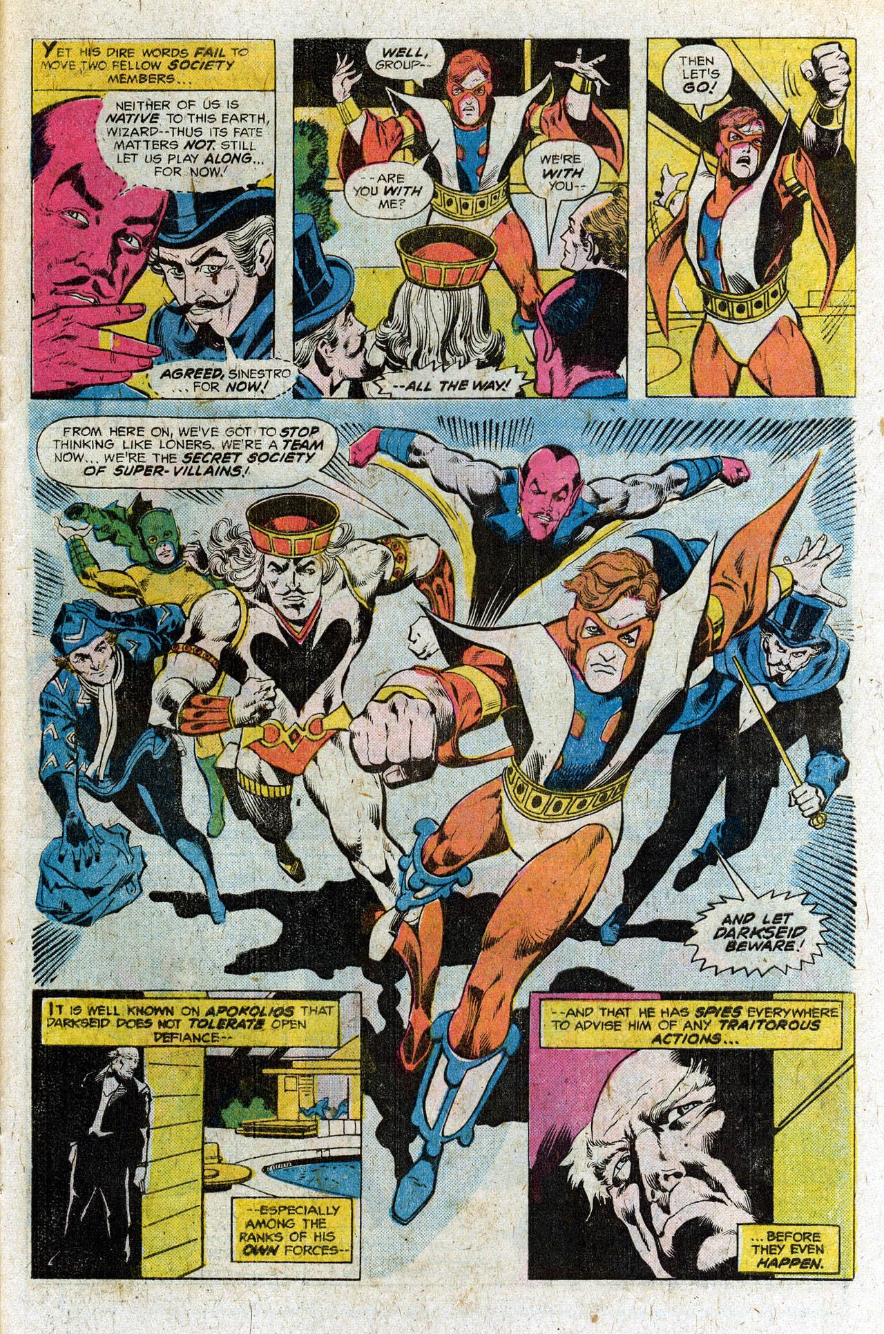 Read online Secret Society of Super-Villains comic -  Issue #3 - 20