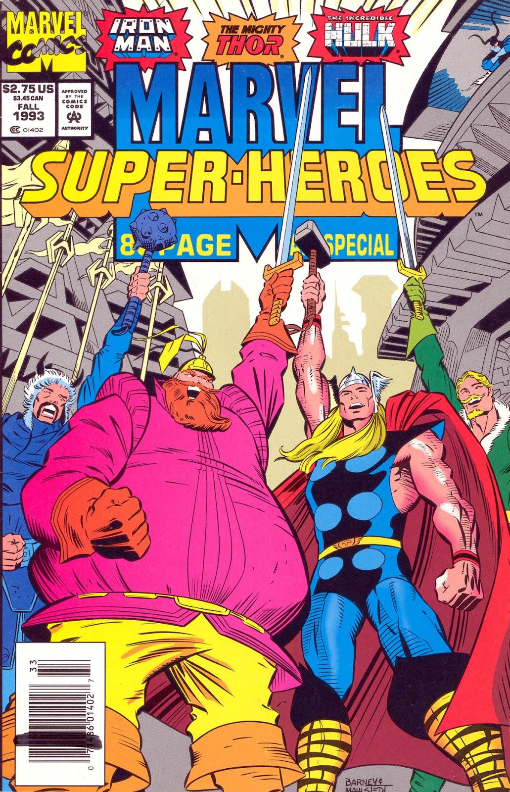 Marvel Super-Heroes (1990) 15 Page 1
