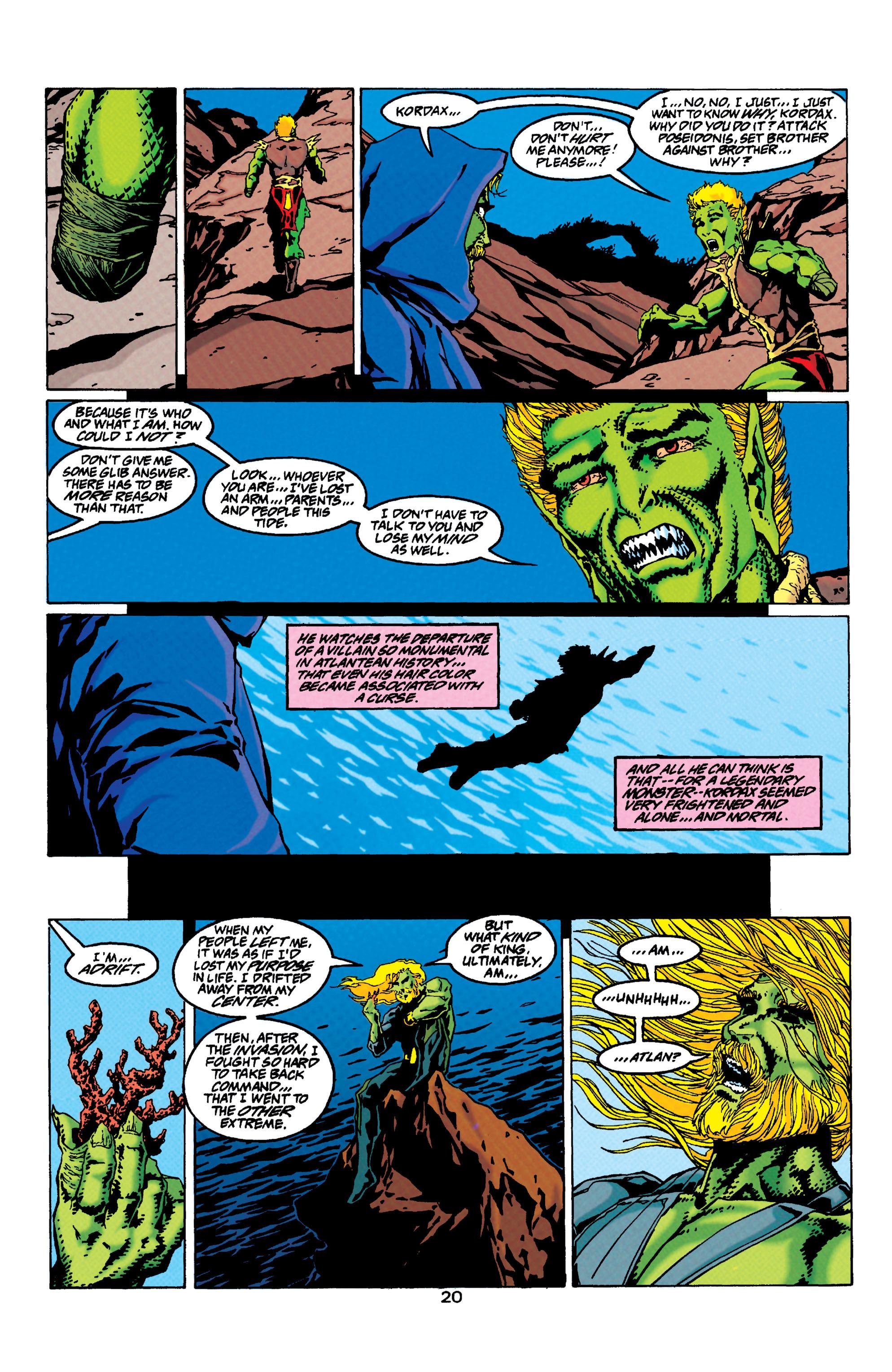 Read online Aquaman (1994) comic -  Issue #33 - 18