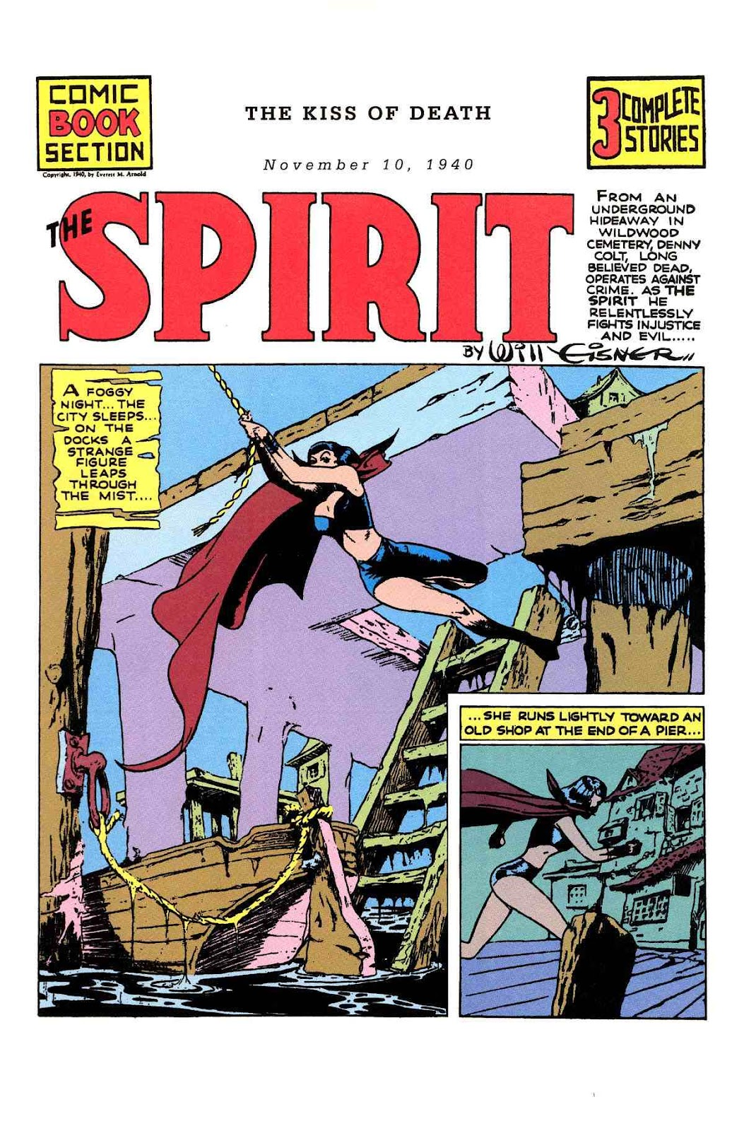 Read online Will Eisner's The Spirit Archives comic -  Issue # TPB 1 (Part 2) - 63
