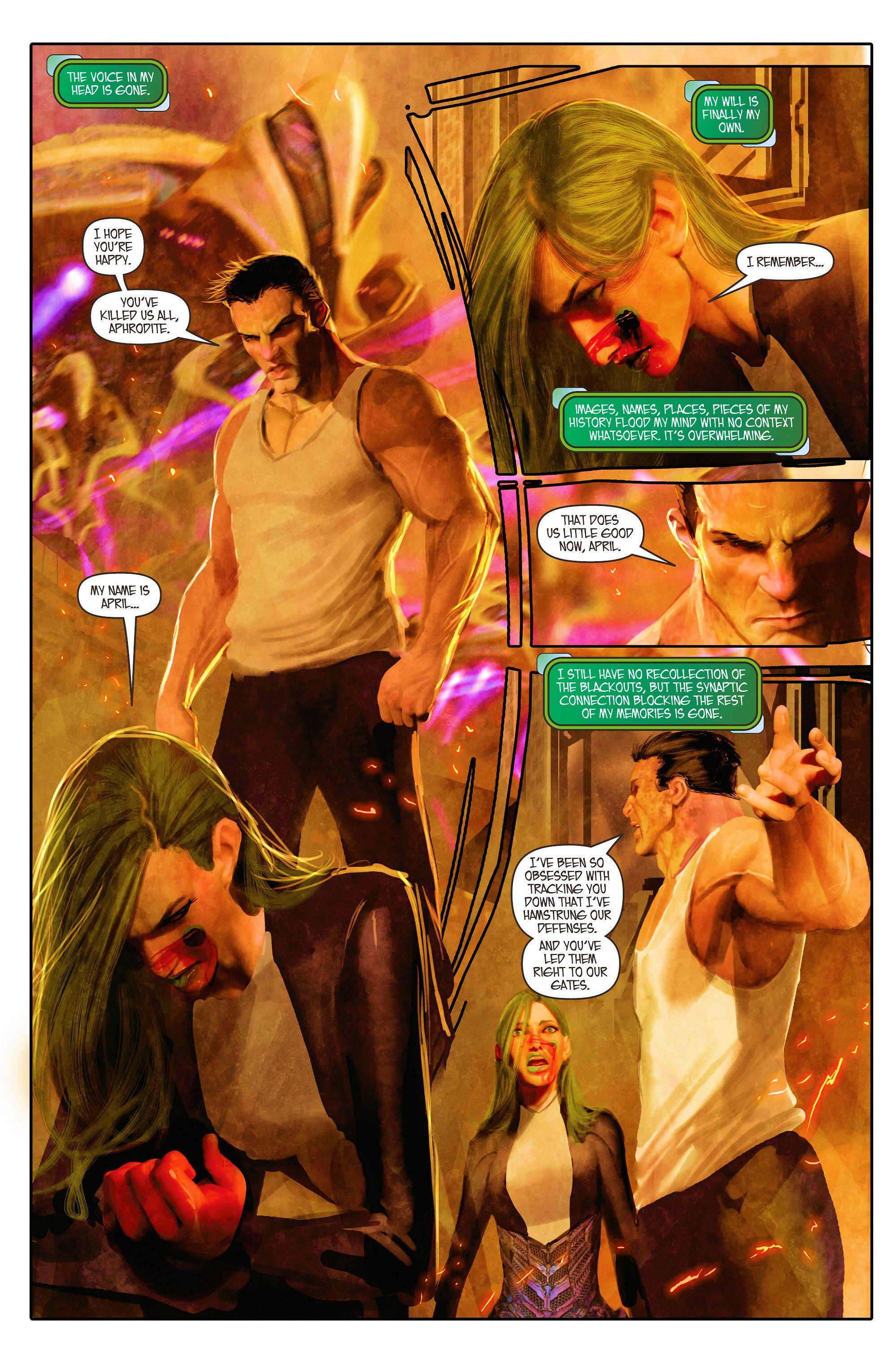 Read online Aphrodite IX (2013) comic -  Issue #5 - 5