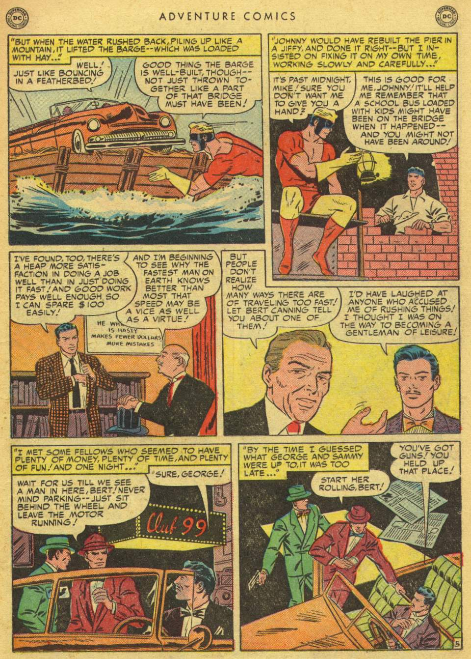 Read online Adventure Comics (1938) comic -  Issue #162 - 21