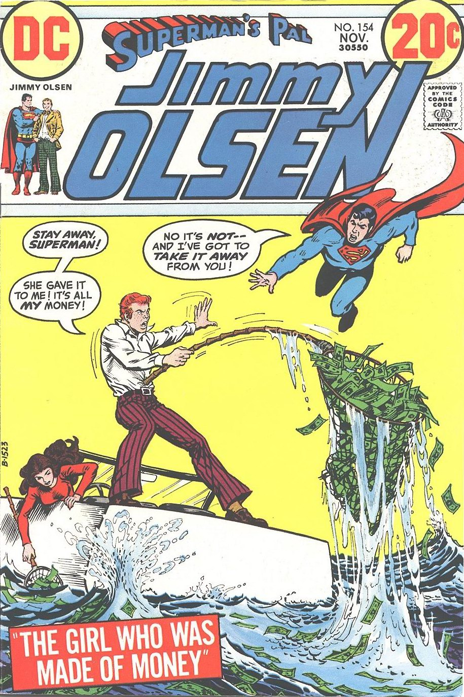 Supermans Pal Jimmy Olsen (1954) 154 Page 1
