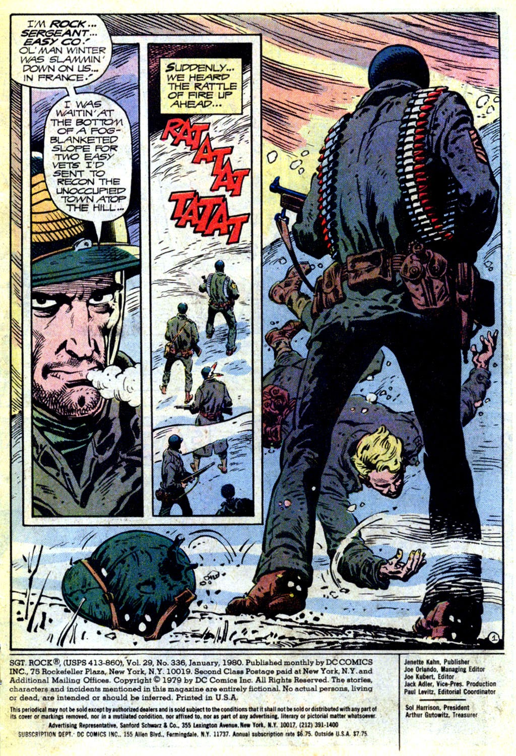 Read online Sgt. Rock comic -  Issue #336 - 2