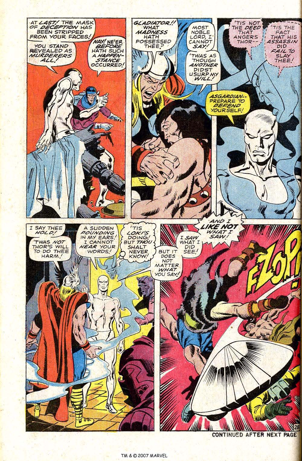 Read online Silver Surfer (1968) comic -  Issue #4 - 34