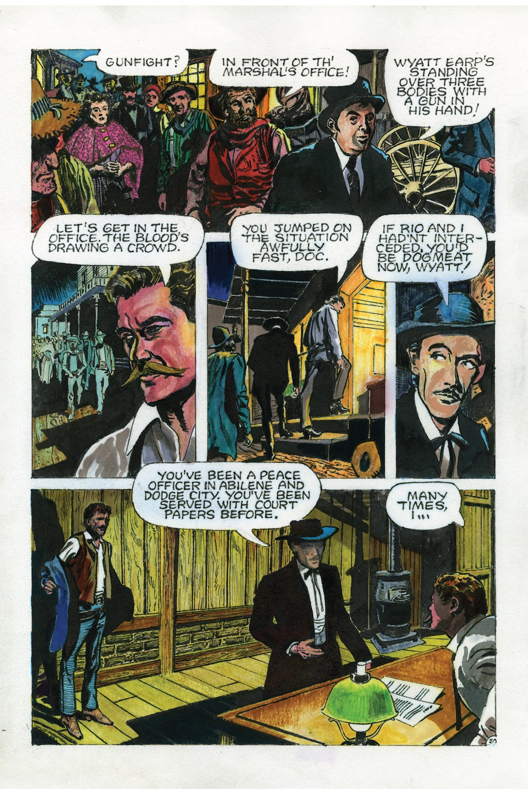 Read online Doug Wildey's Rio: The Complete Saga comic -  Issue # TPB (Part 3) - 18