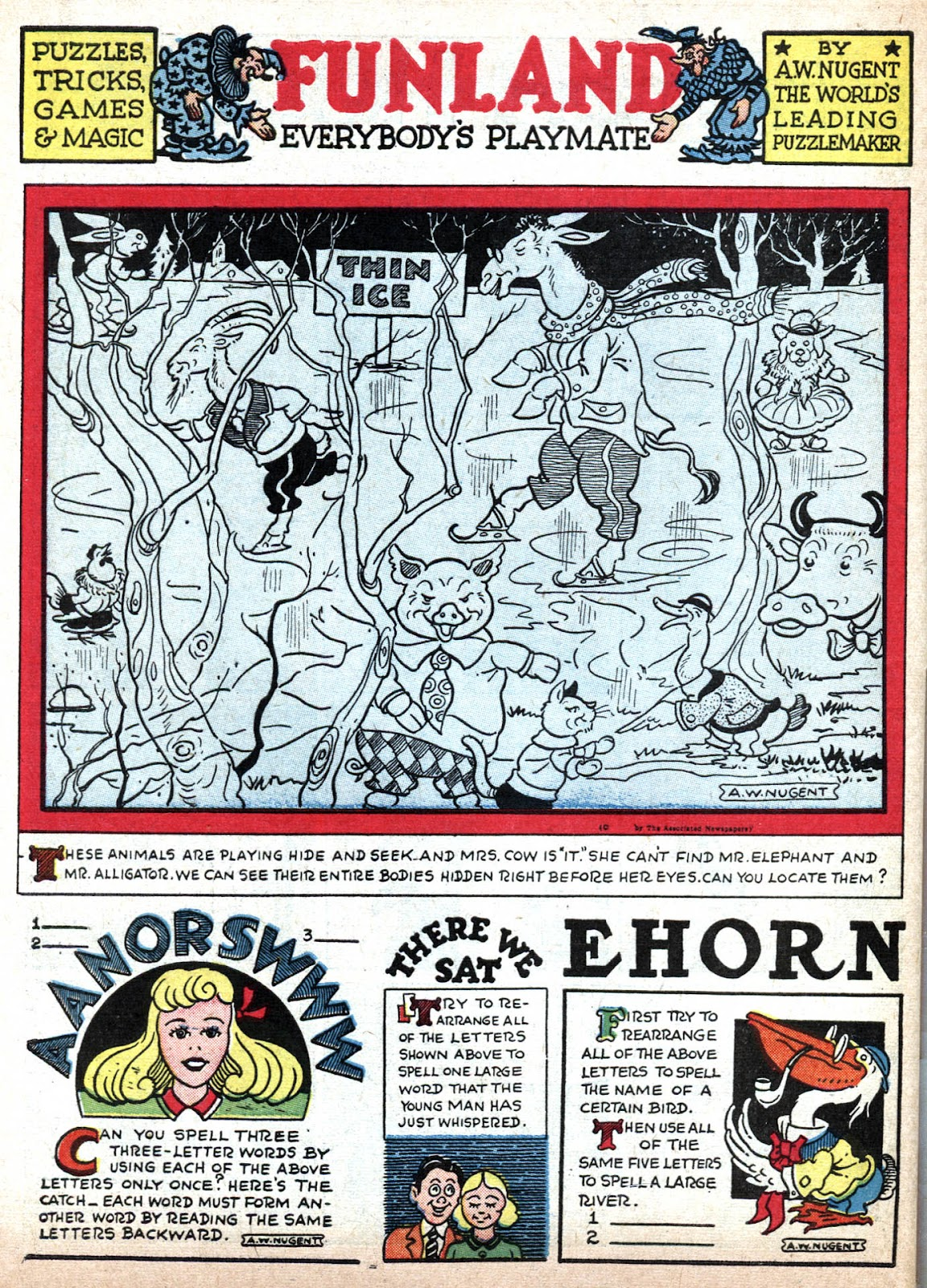 Read online Famous Funnies comic -  Issue #79 - 64