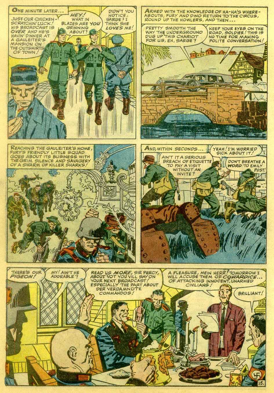 Read online Sgt. Fury comic -  Issue # _Annual 1 - 38