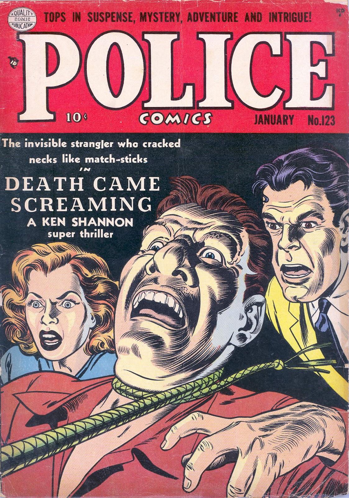 Police Comics 123 Page 1