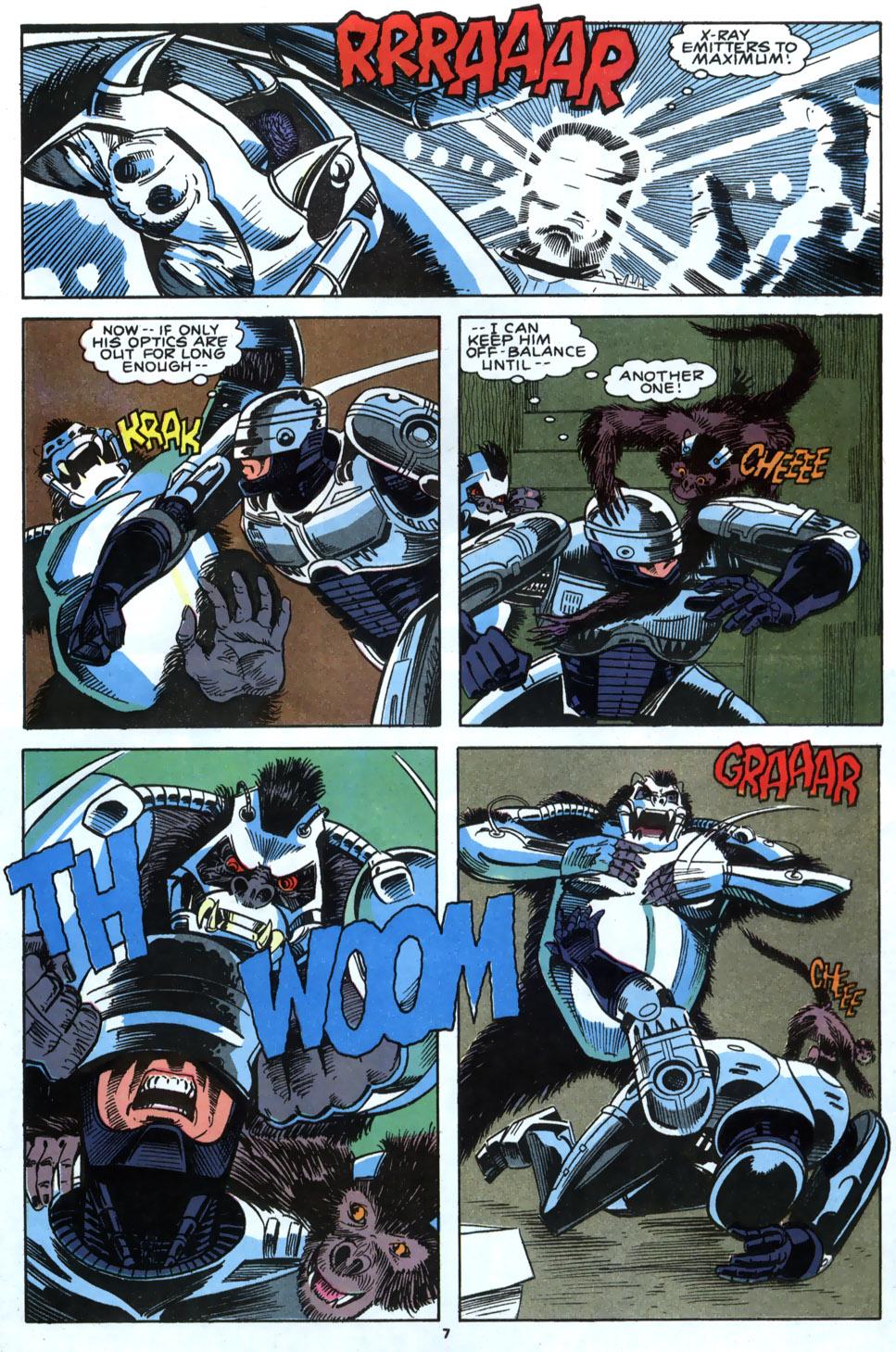 Read online Robocop (1990) comic -  Issue #4 - 6