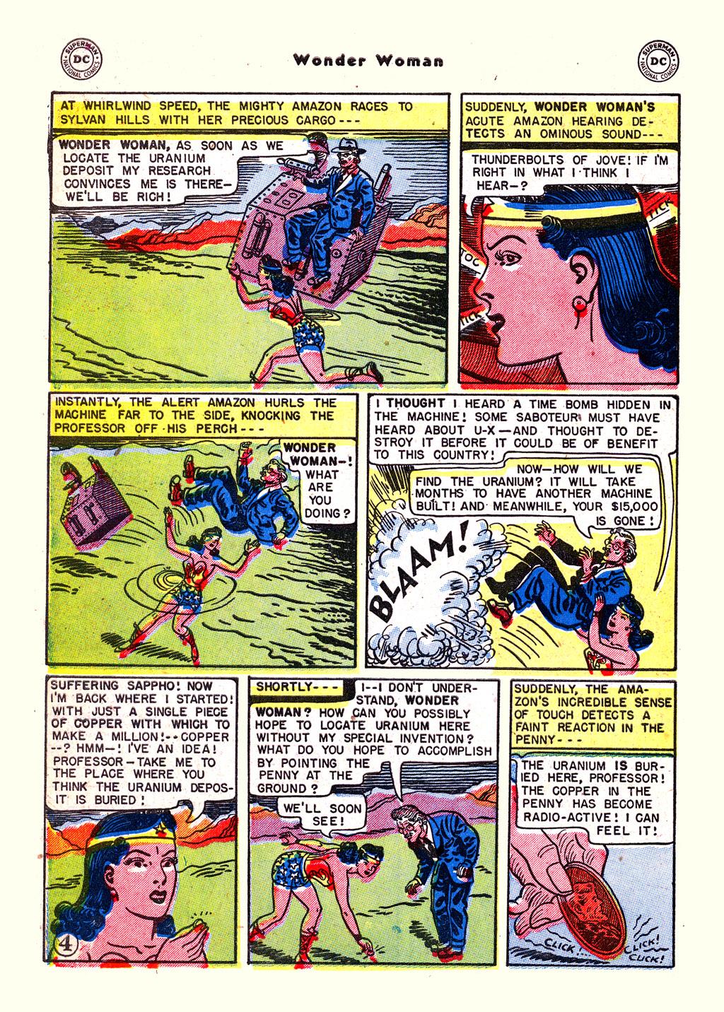 Read online Wonder Woman (1942) comic -  Issue #59 - 30