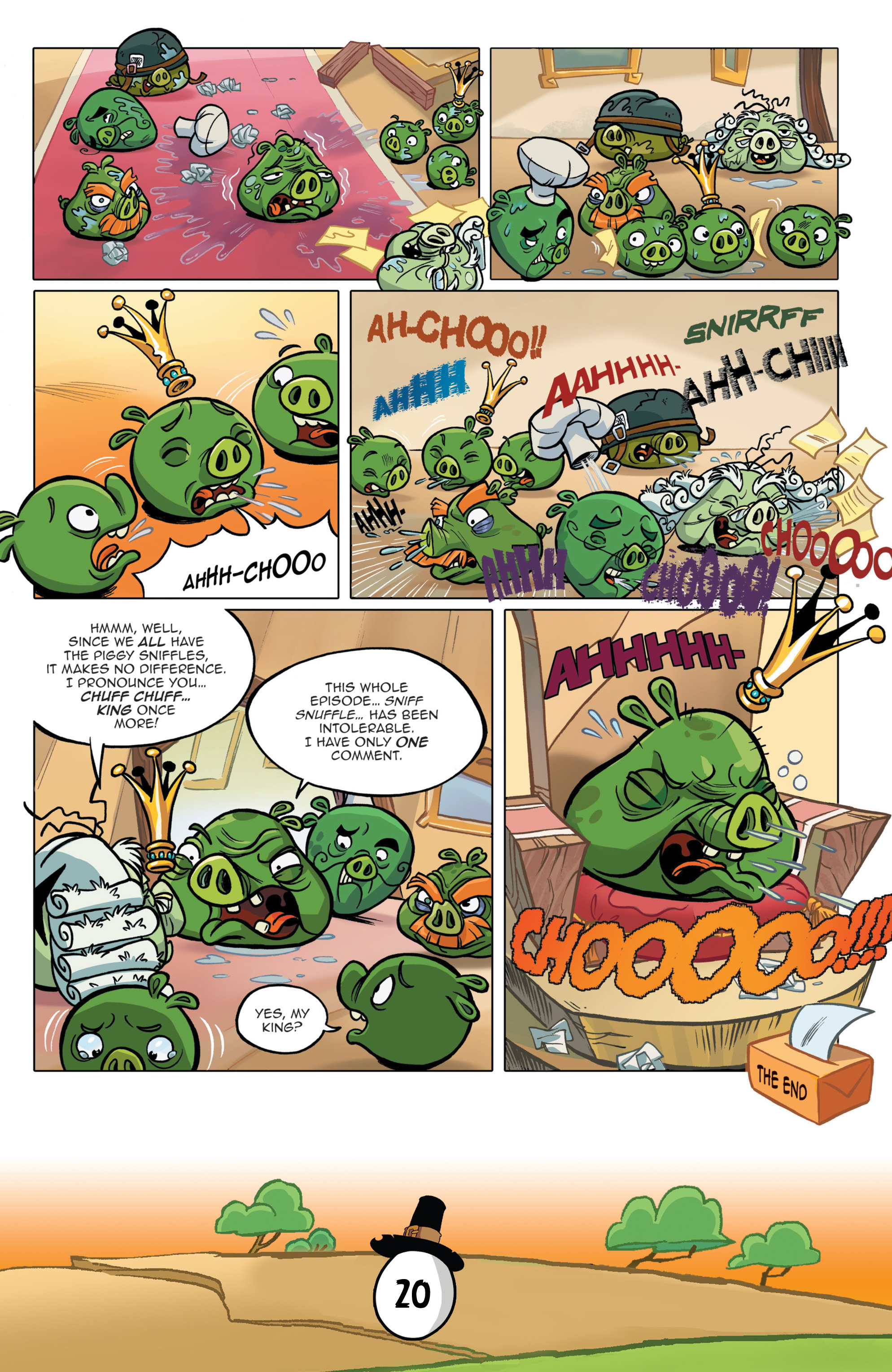 Read online Angry Birds Comics (2016) comic -  Issue #11 - 22