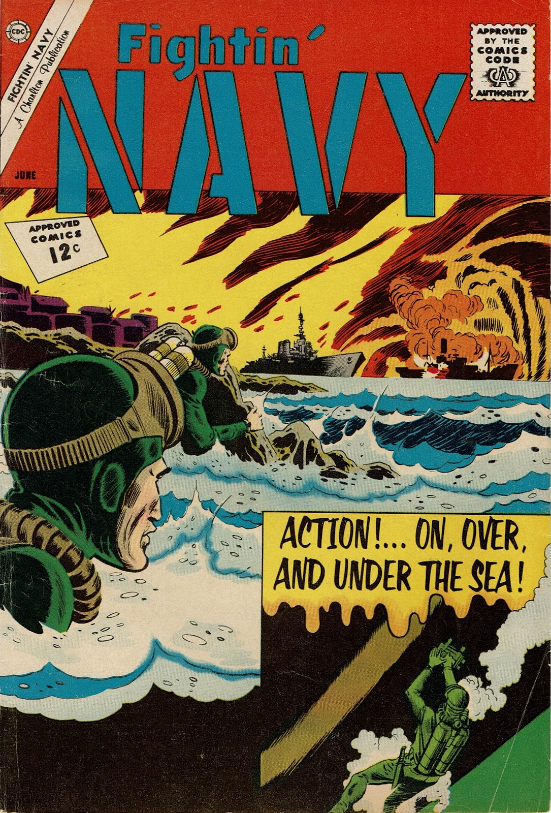 Read online Fightin' Navy comic -  Issue #104 - 1