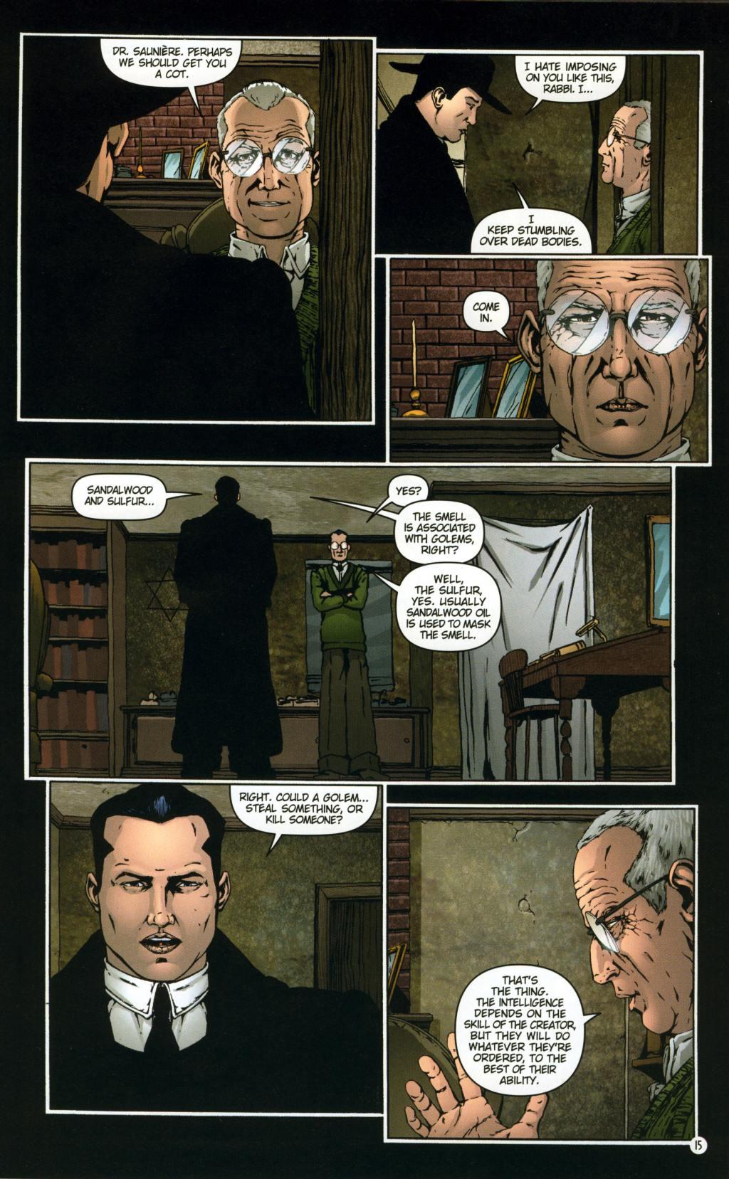 Read online Rex Mundi comic -  Issue #8 - 19