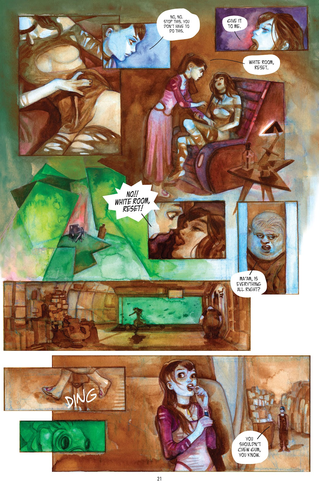 Read online Strange Adventures (2014) comic -  Issue # TPB (Part 1) - 19