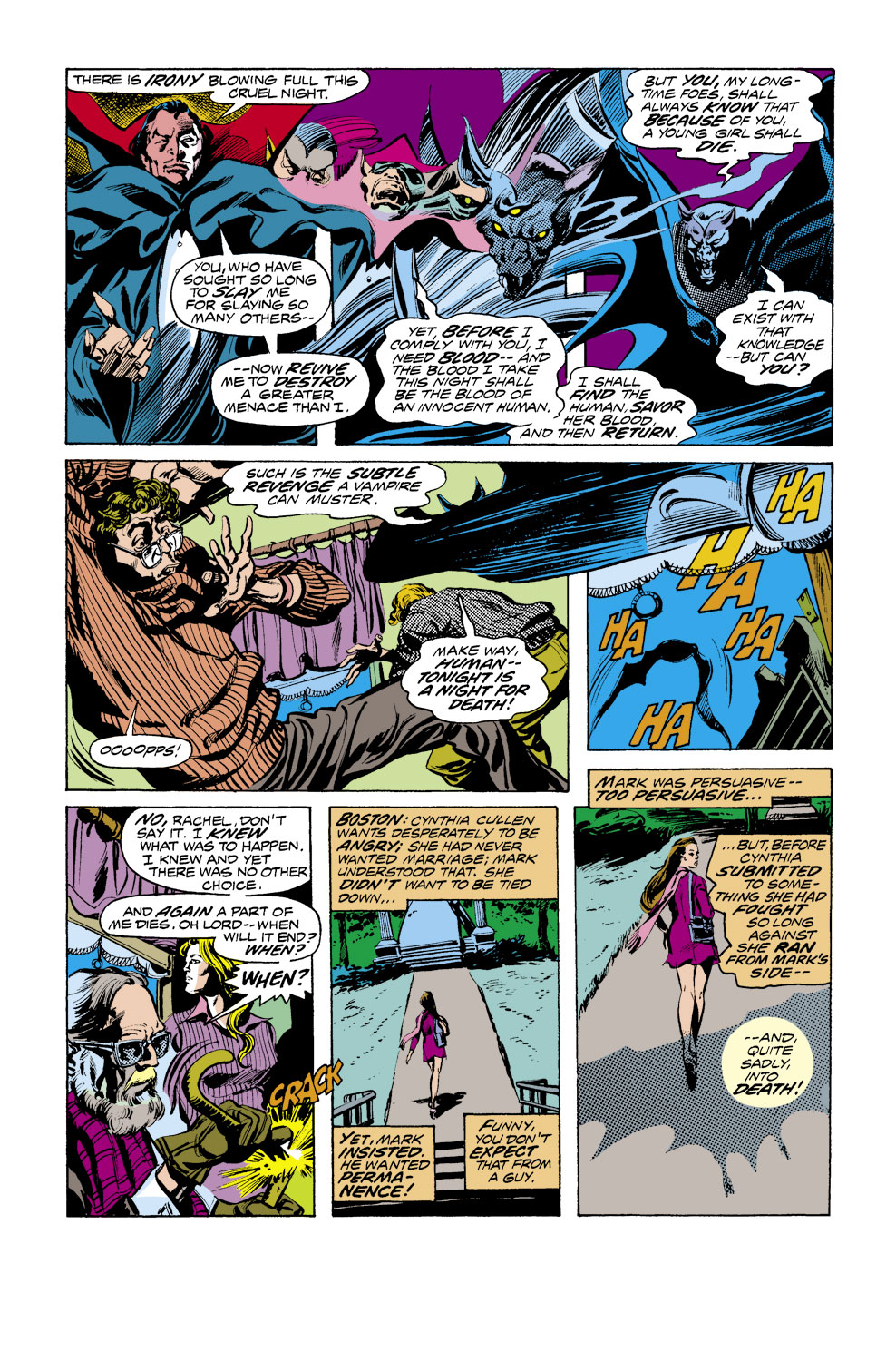 Tomb of Dracula (1972) issue 41 - Page 7