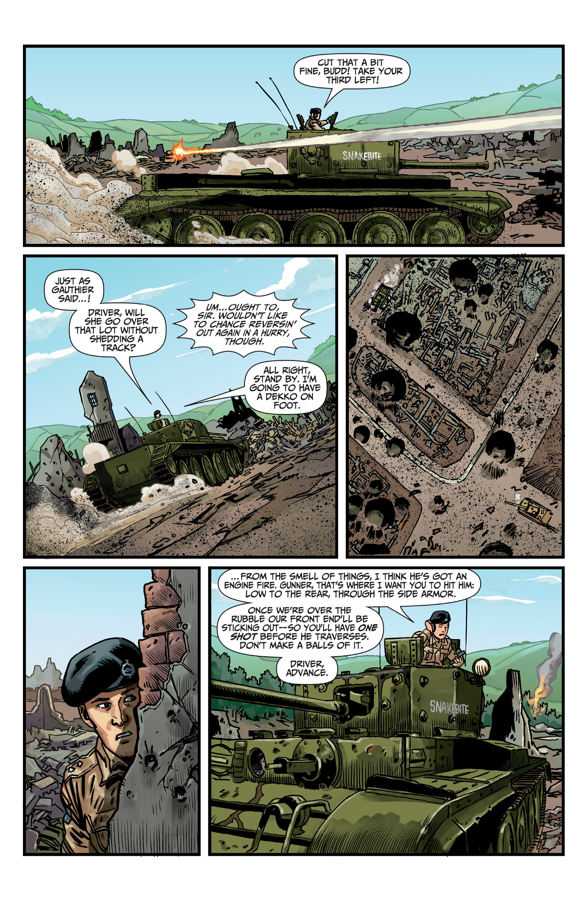 Read online World of Tanks comic -  Issue #5 - 13