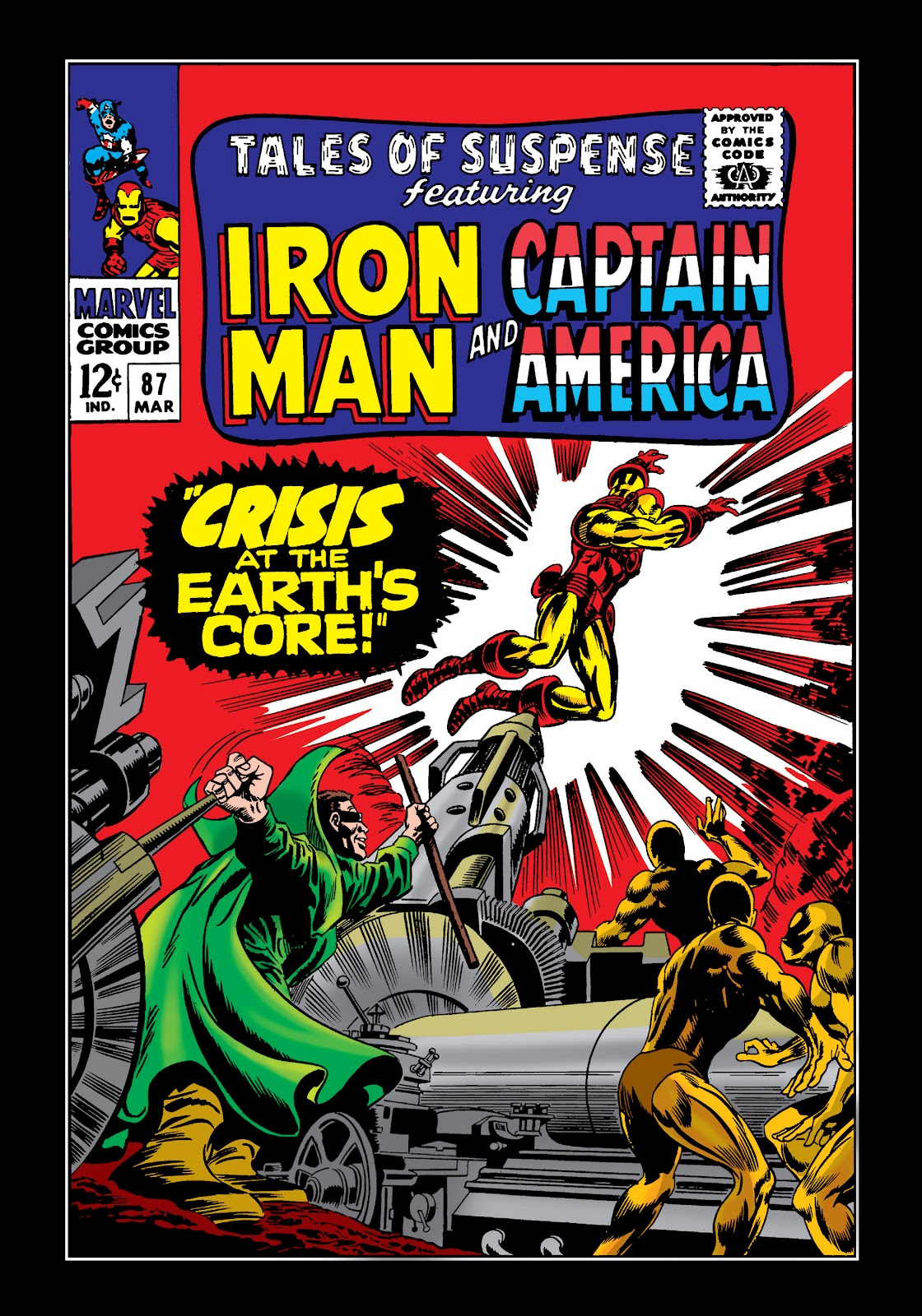 Read online Marvel Masterworks: The Invincible Iron Man comic -  Issue # TPB 4 (Part 1) - 45