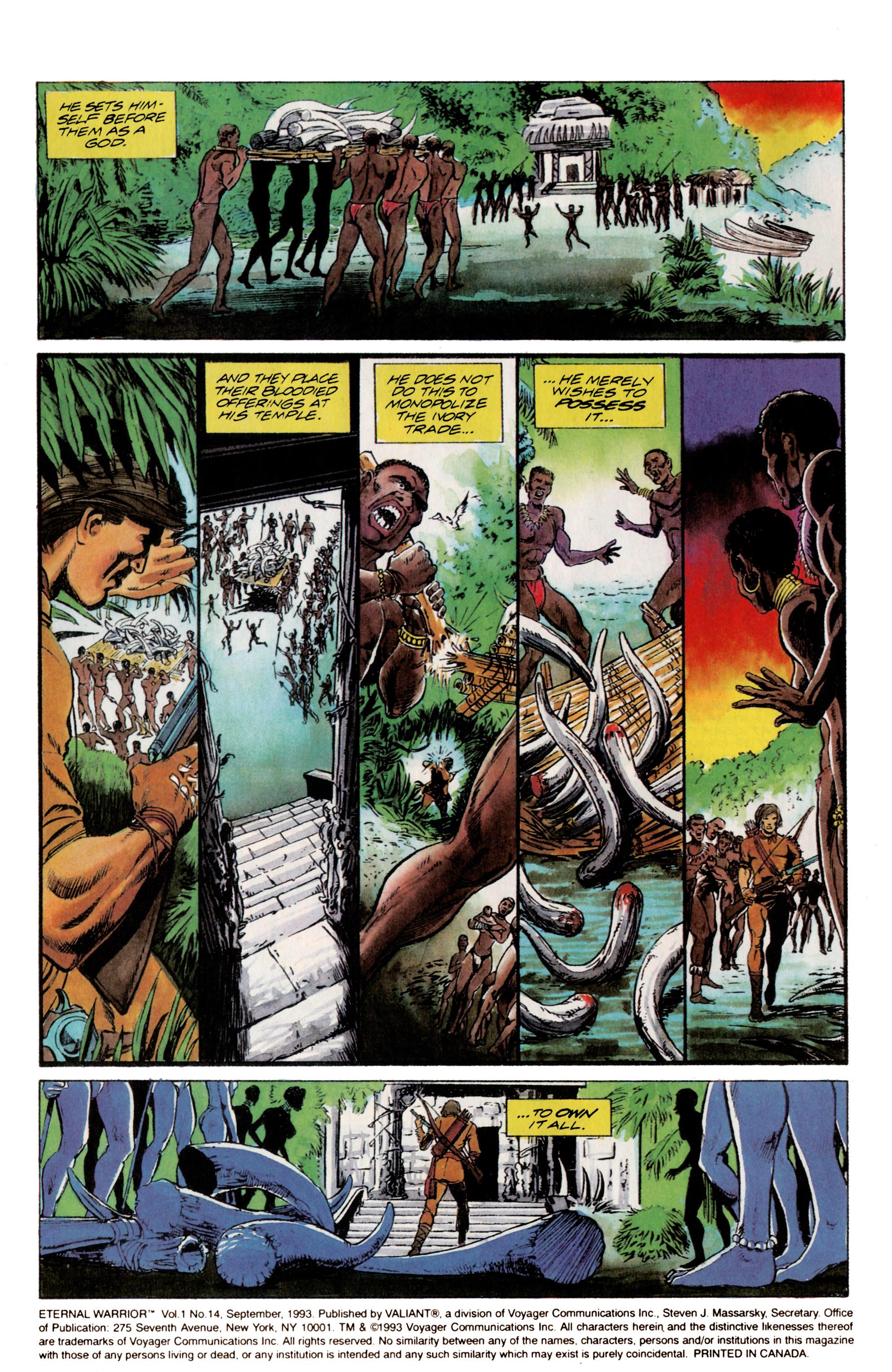 Read online Eternal Warrior (1992) comic -  Issue #14 - 3