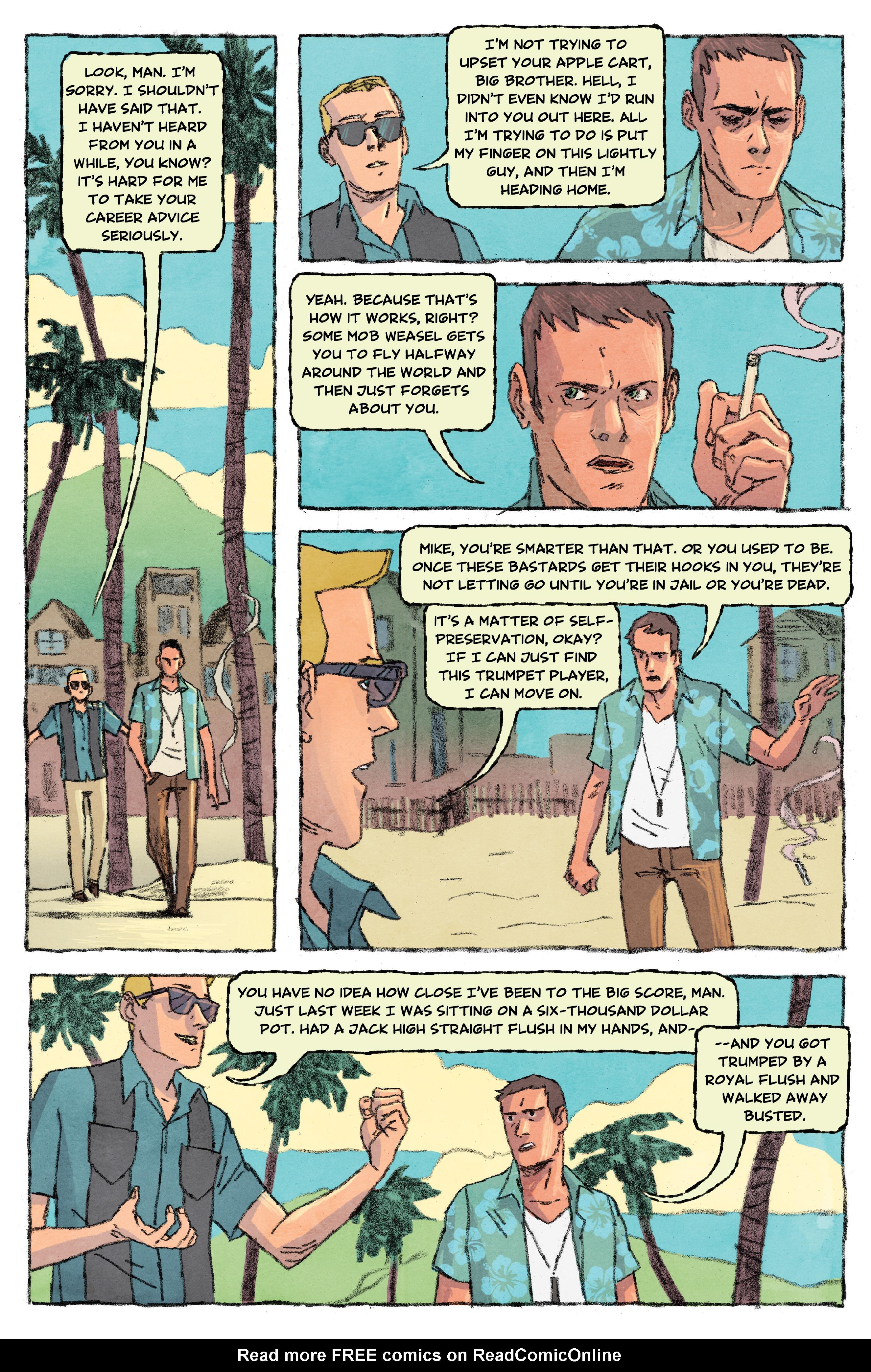 Read online Aloha, Hawaiian Dick comic -  Issue #3 - 10