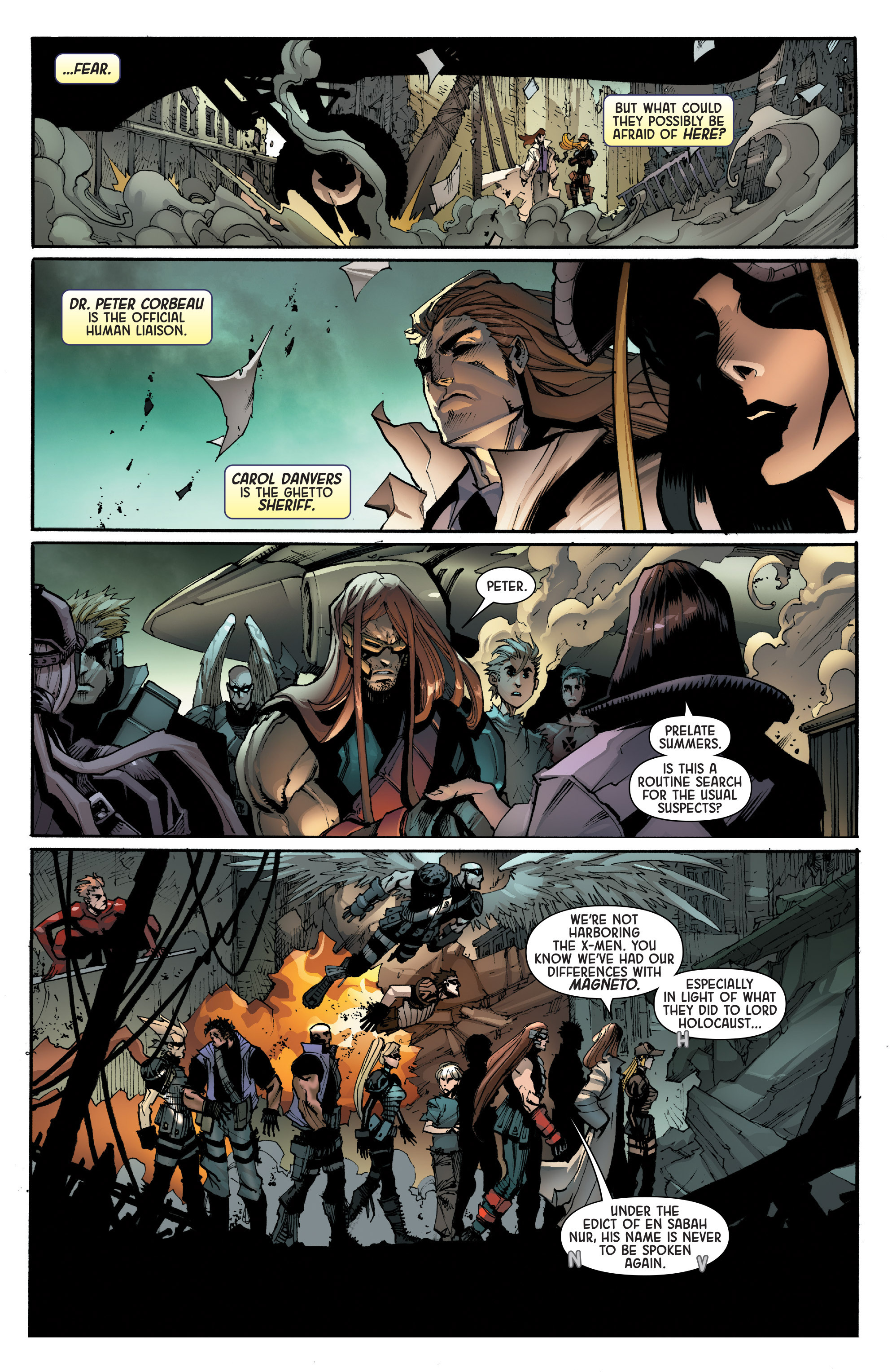 Read online Age of Apocalypse (2015) comic -  Issue #1 - 27