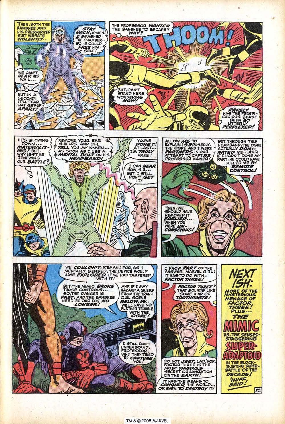 Uncanny X-Men (1963) 76 Page 28