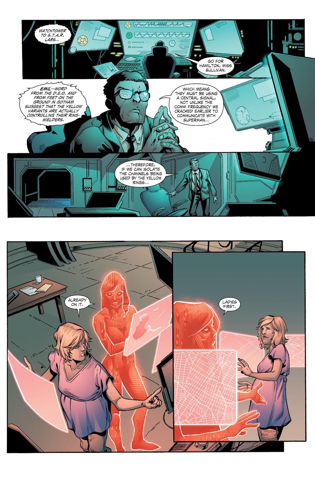 Read online Smallville Season 11 [II] comic -  Issue # TPB 7 - 105