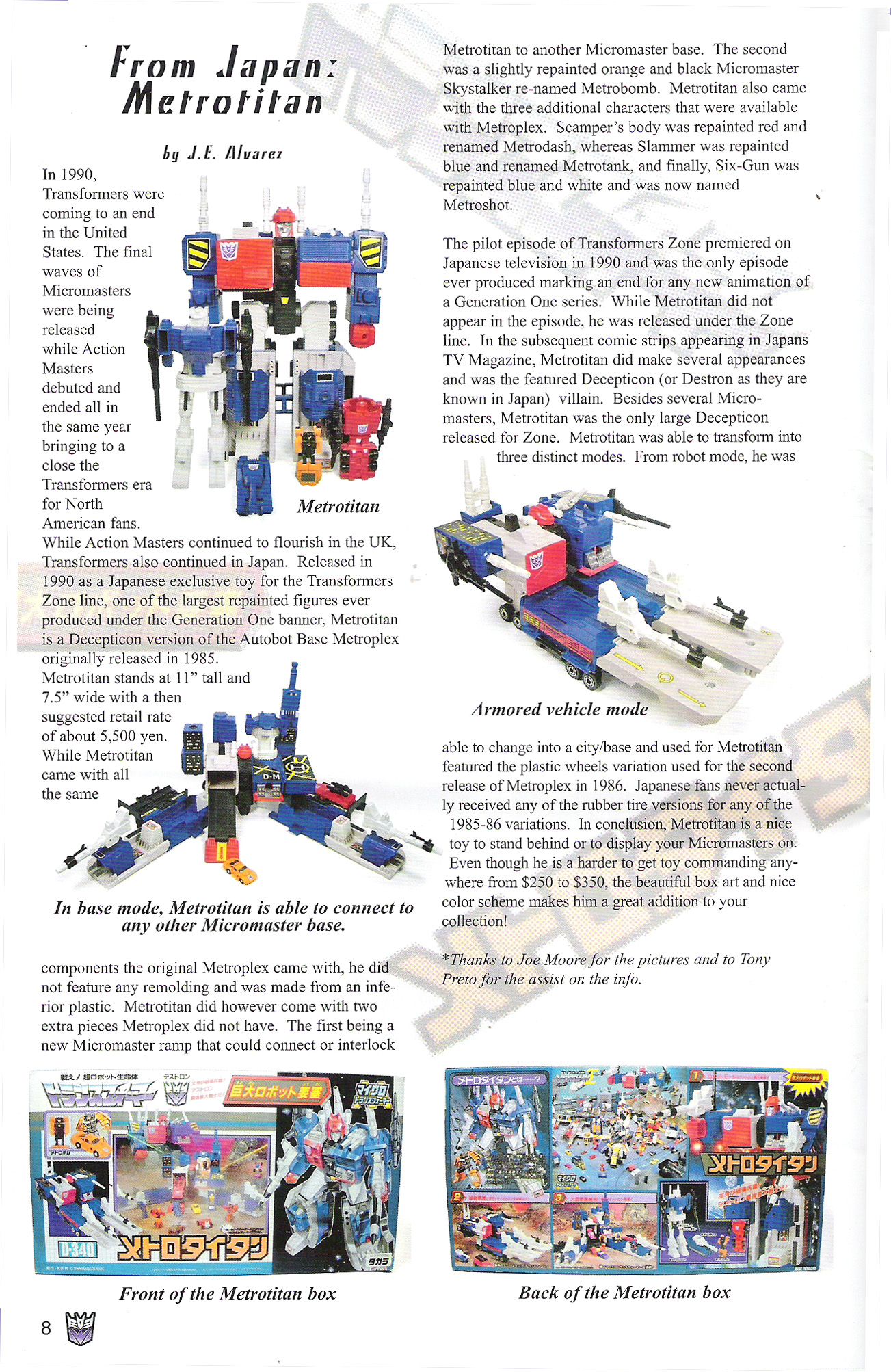Read online Transformers: Collectors' Club comic -  Issue #5 - 8