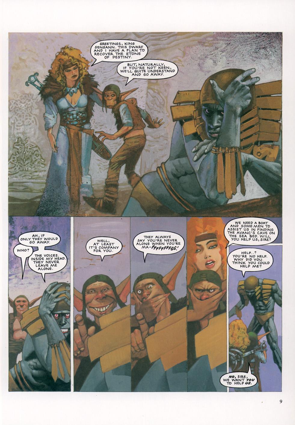 Read online Slaine: The Horned God (1993) comic -  Issue #4 - 10