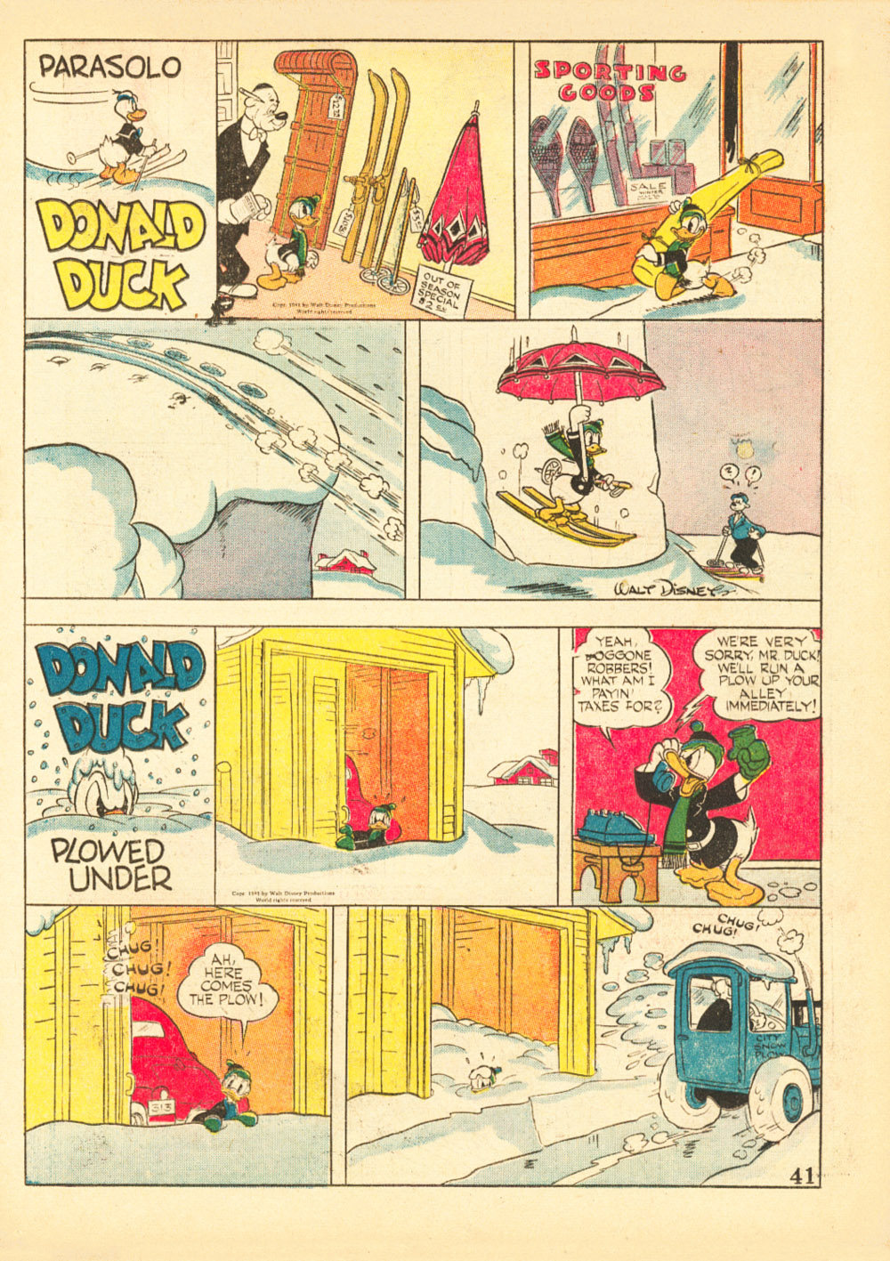 Walt Disney's Comics and Stories issue 38 - Page 43