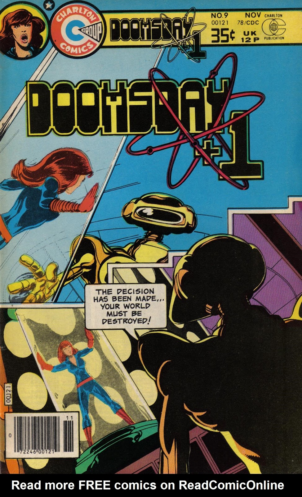 Read online Doomsday   1 (1975) comic -  Issue #9 - 1