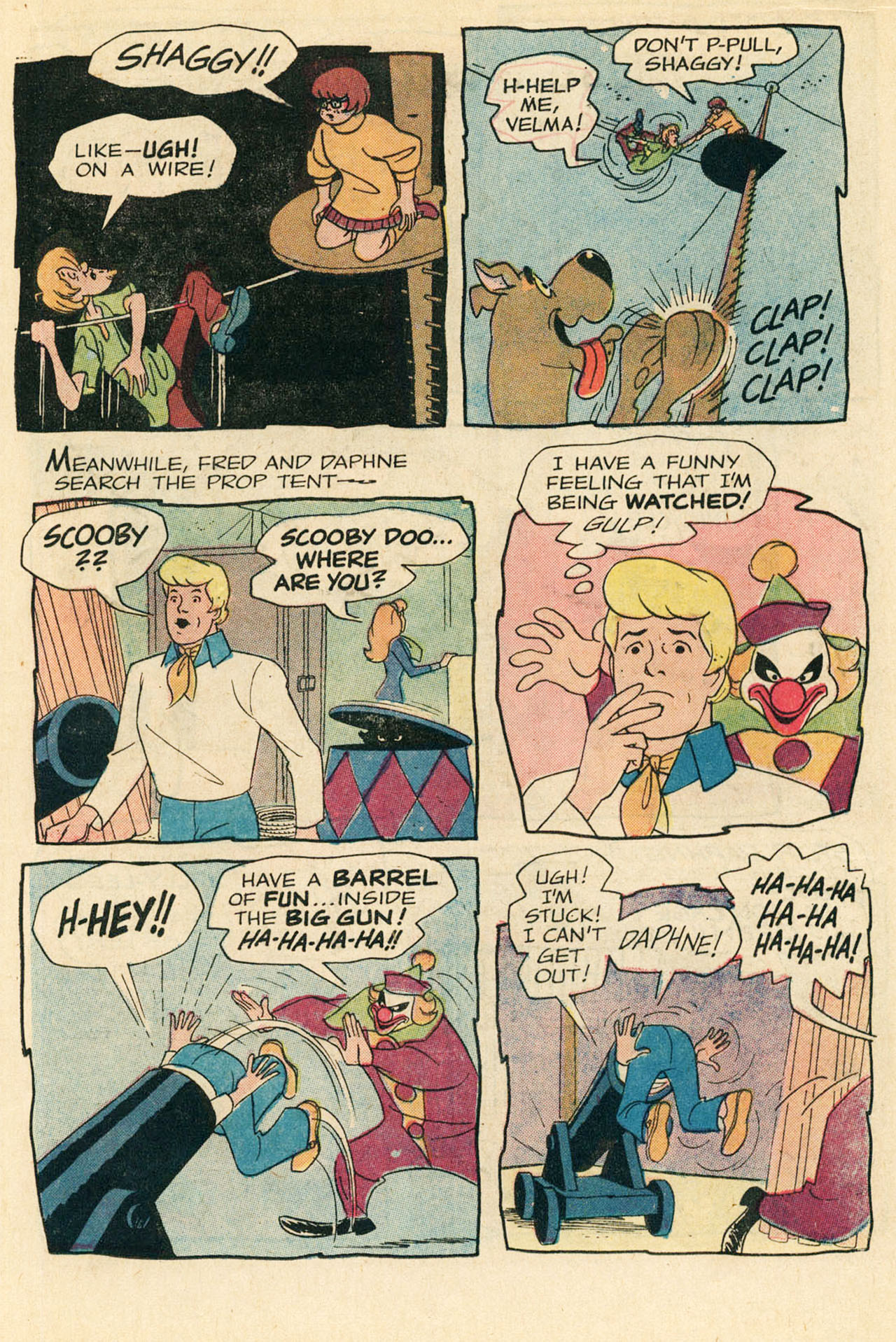 Read online Scooby-Doo... Where Are You! (1970) comic -  Issue #9 - 16